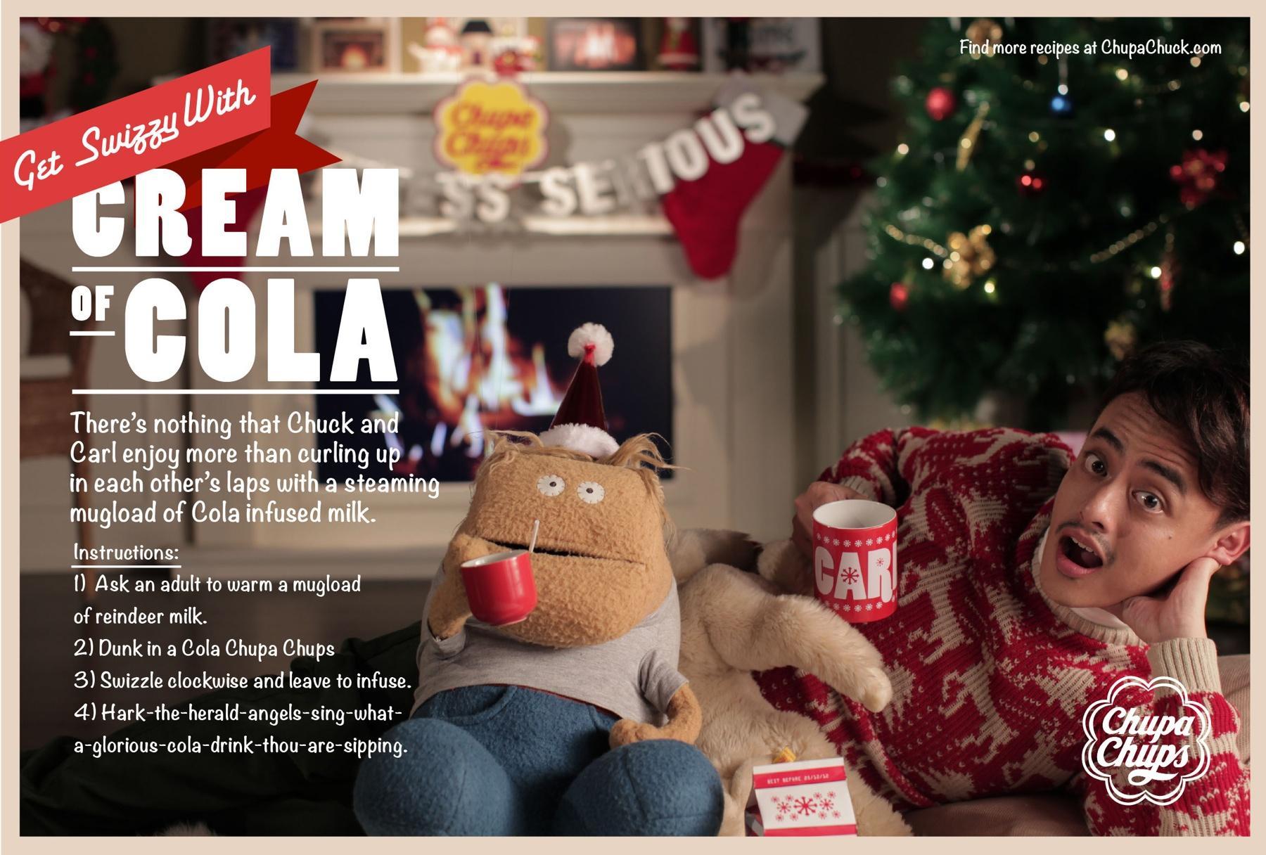 Chupa Chups Print Ad -  Cream of Cola