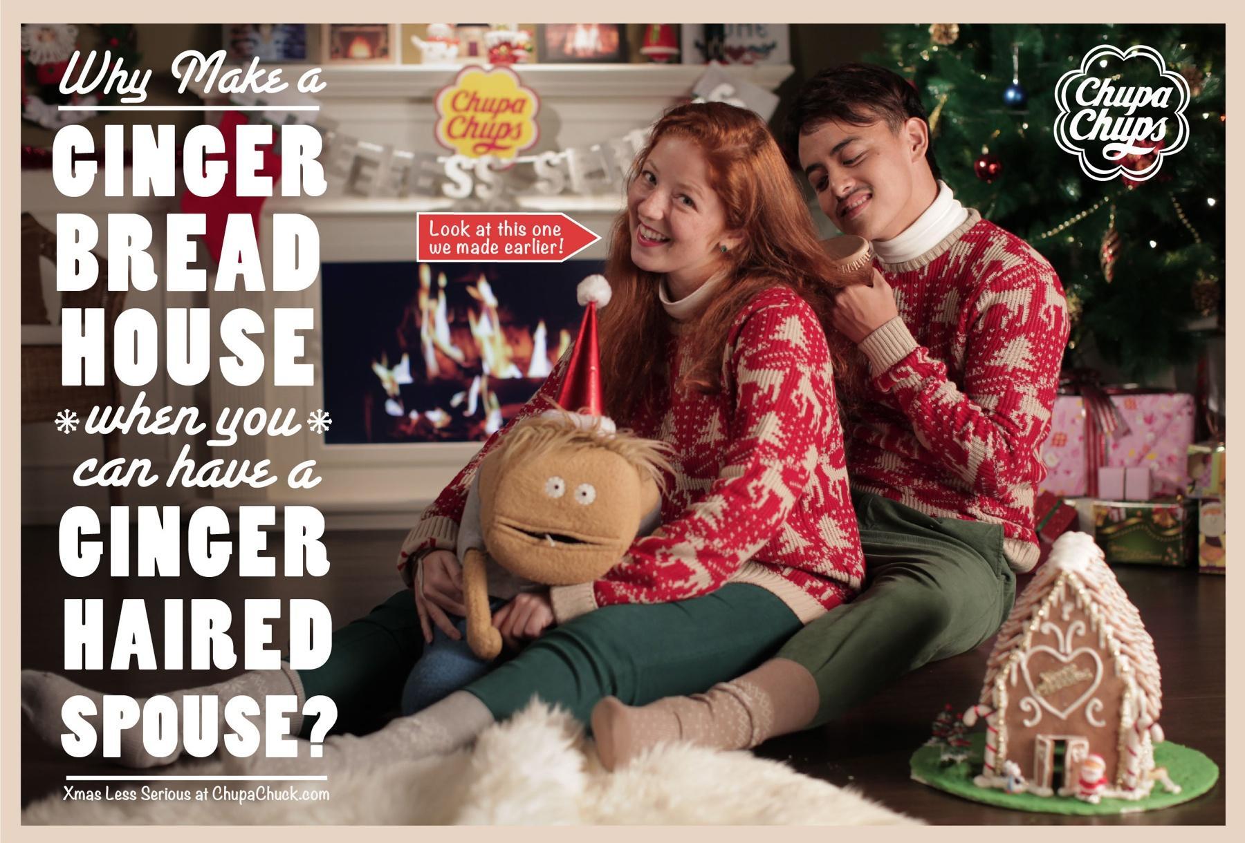 Chupa Chups Print Ad -  Ginger bread house