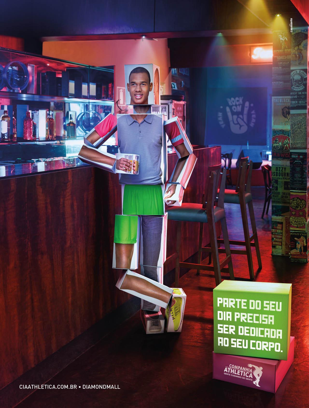 Companhia Athletica Print Ad -  Bar