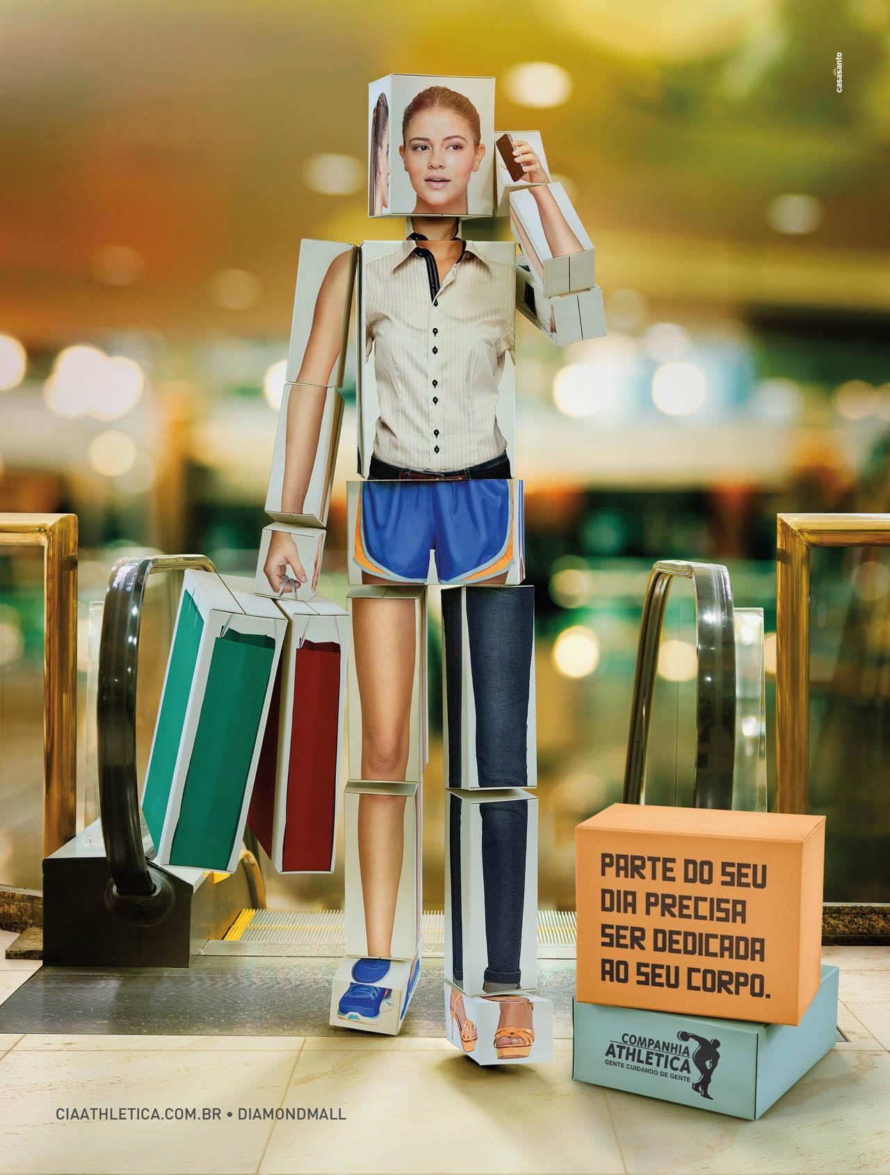 Companhia Athletica Print Ad -  Shopping