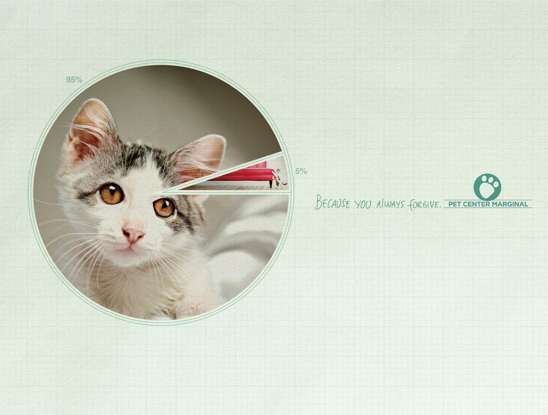 Pet Center Marginal Print Ad -  Circle