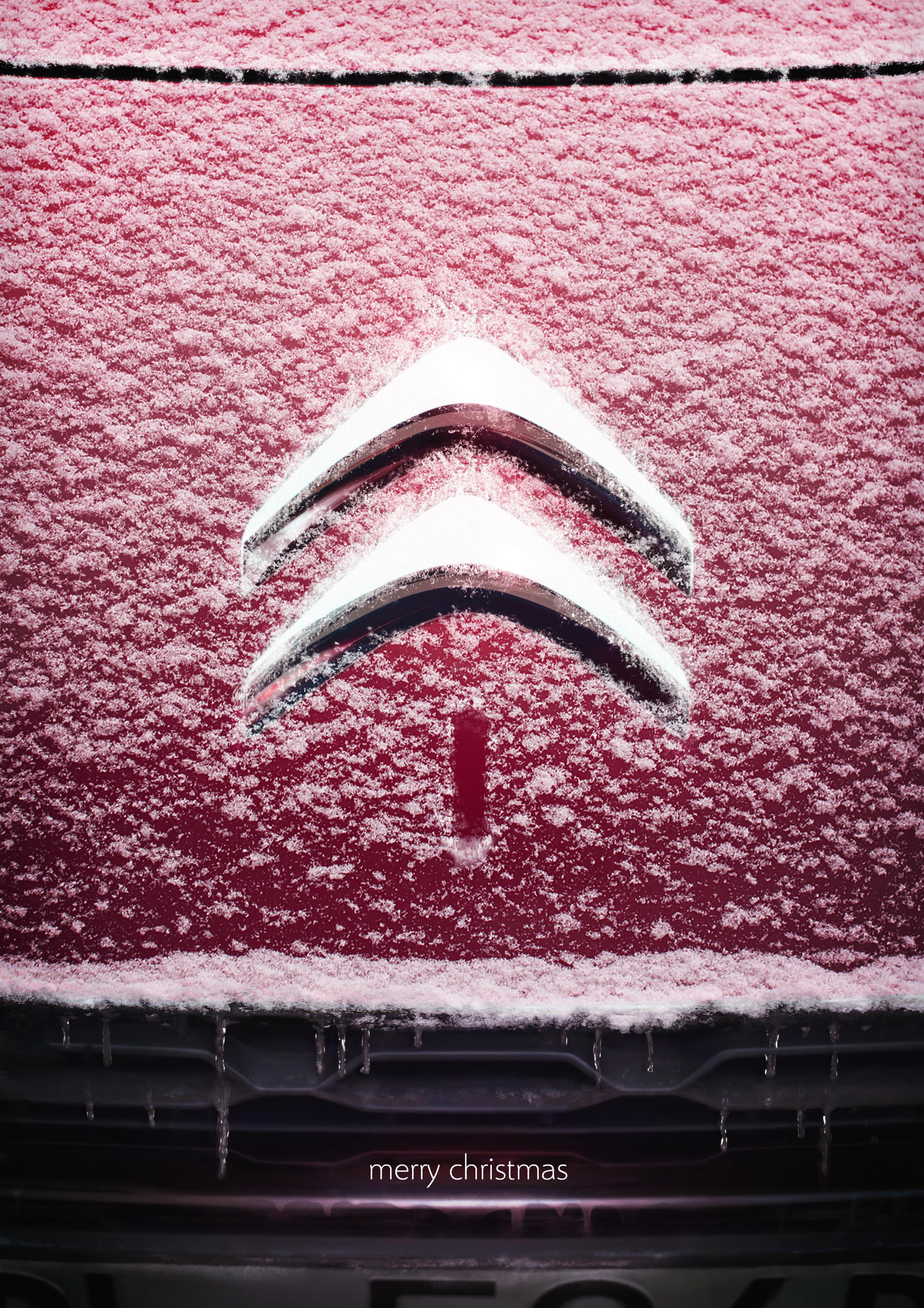 Citroën Digital Ad - Merry Christmas