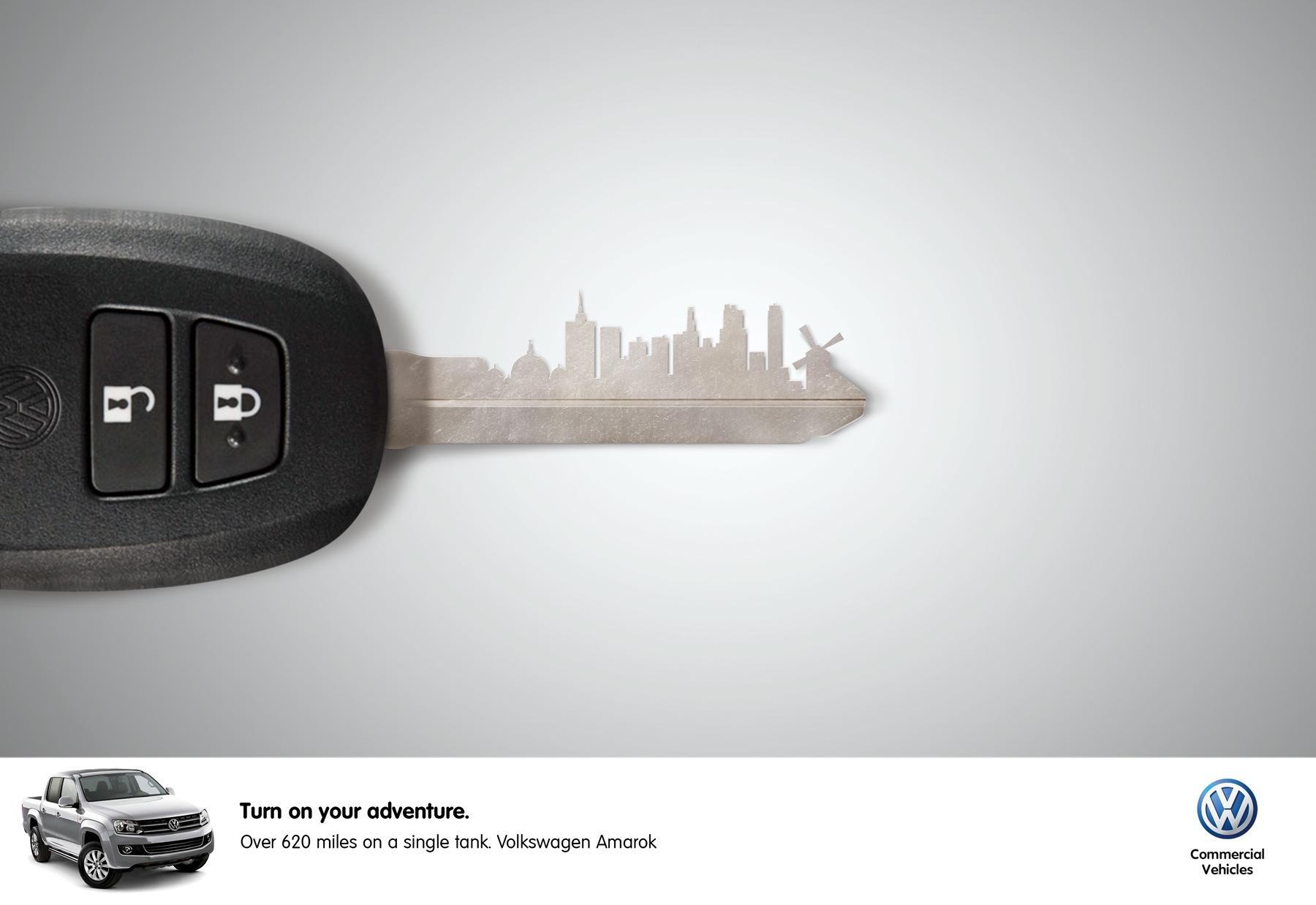 Volkswagen Print Ad -  City
