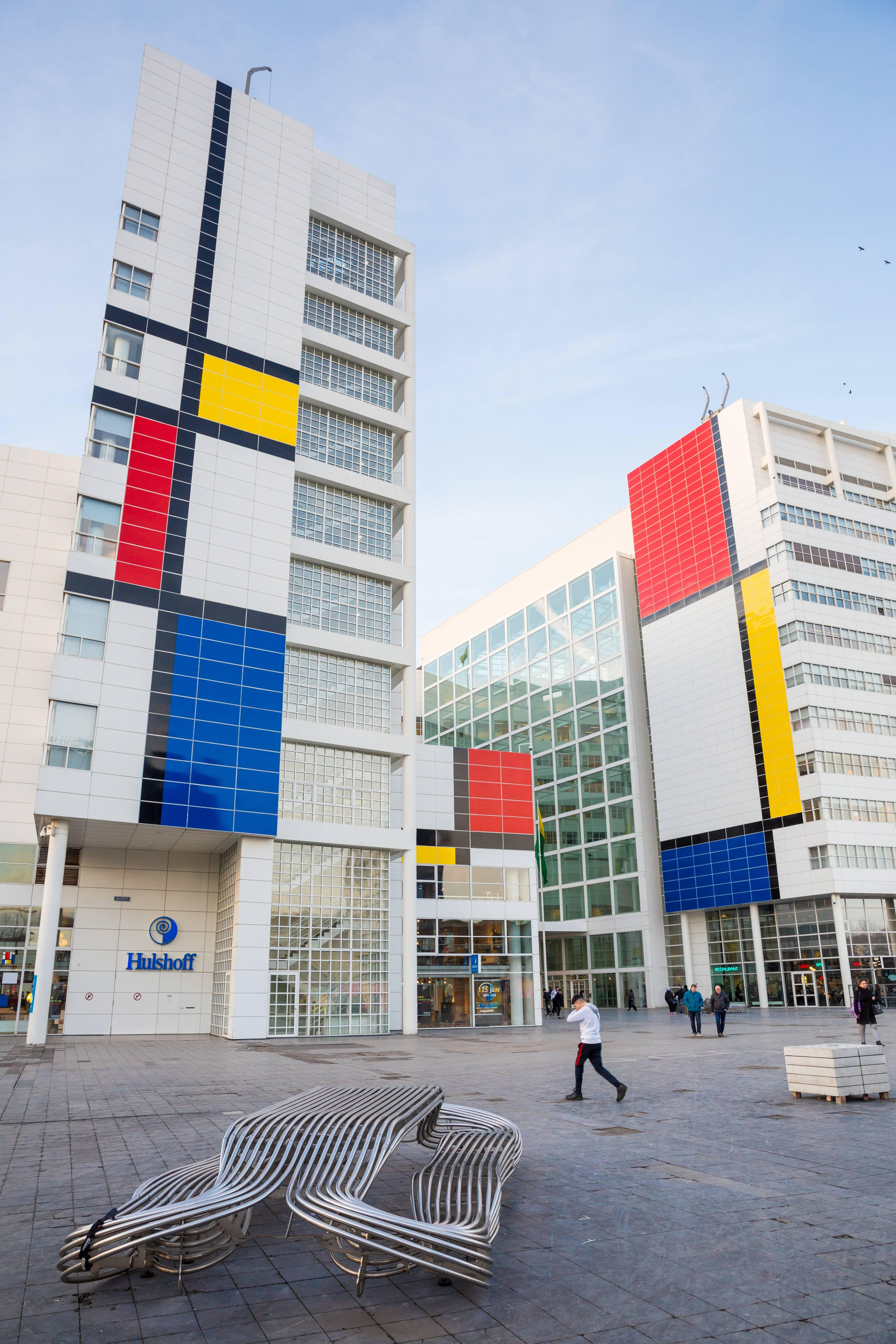 The Hague Museum Outdoor Ad - The Discovery of Mondrian
