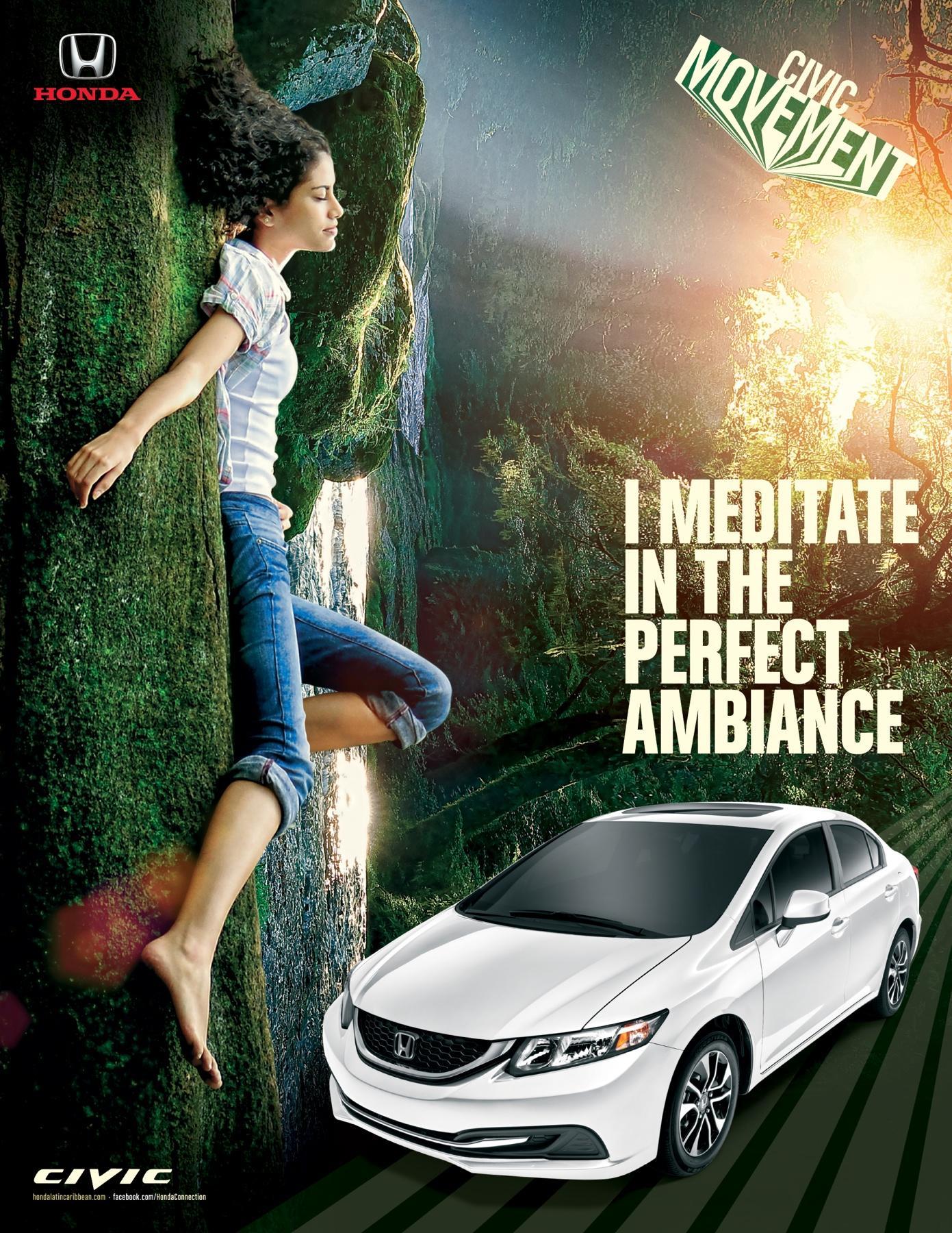 Honda Print Ad -  Ambience