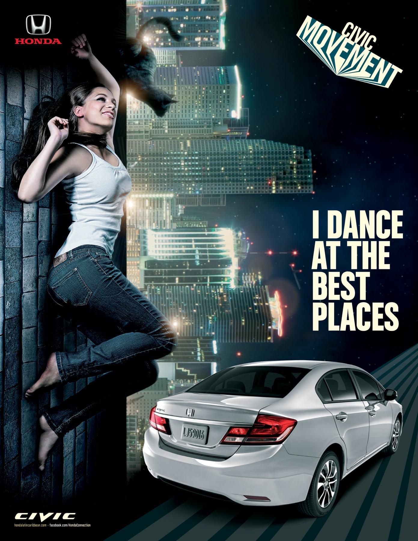 Honda Print Ad -  Dance