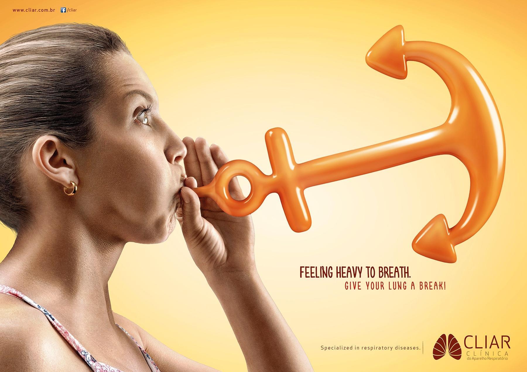 Clínica CLIAR Print Ad -  Balloon, 1