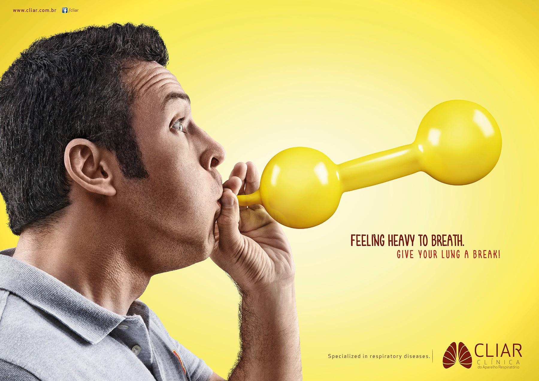 Clínica CLIAR Print Ad -  Balloon, 2