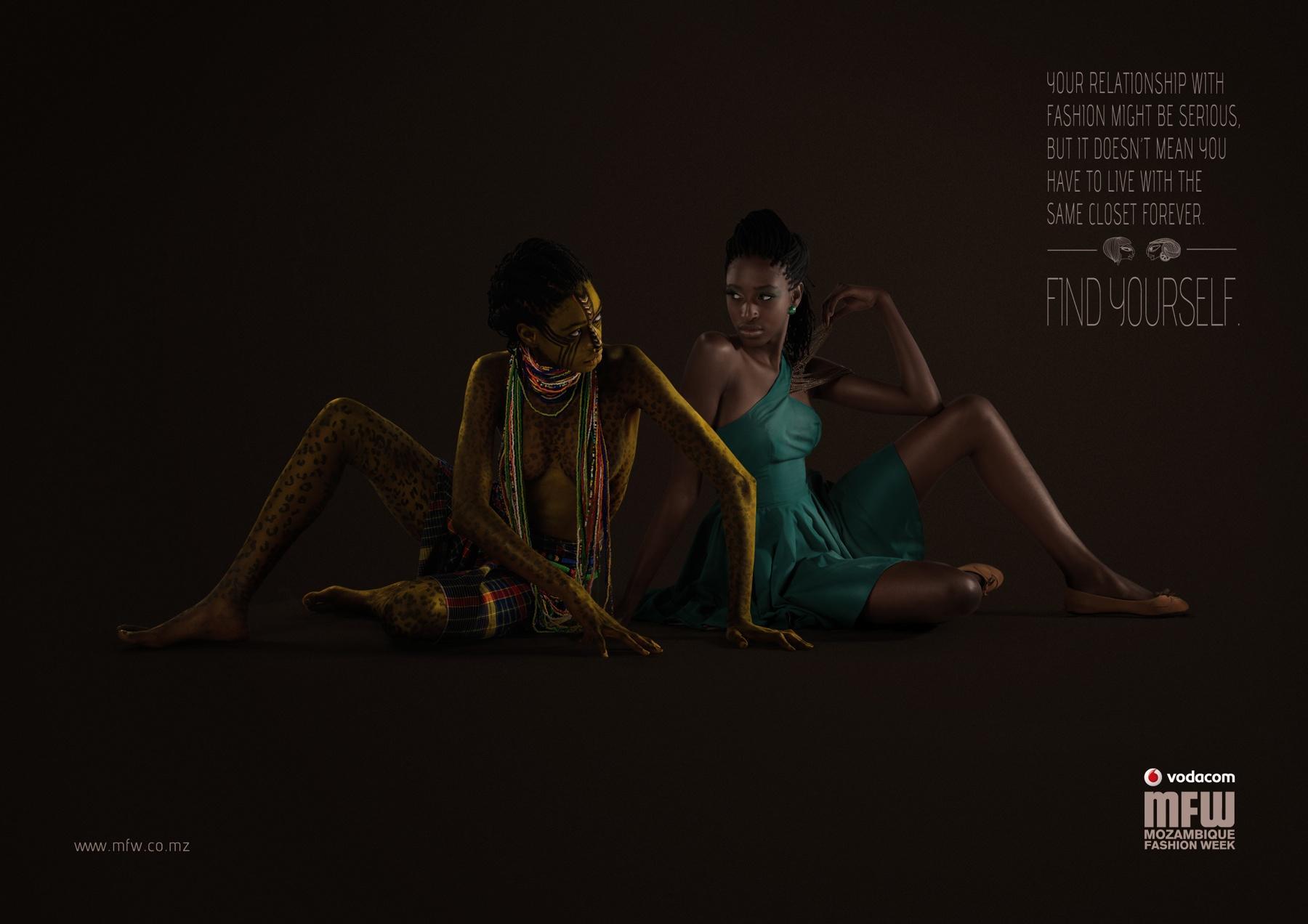 Mozambique Fashion Week Print Ad -  Closet