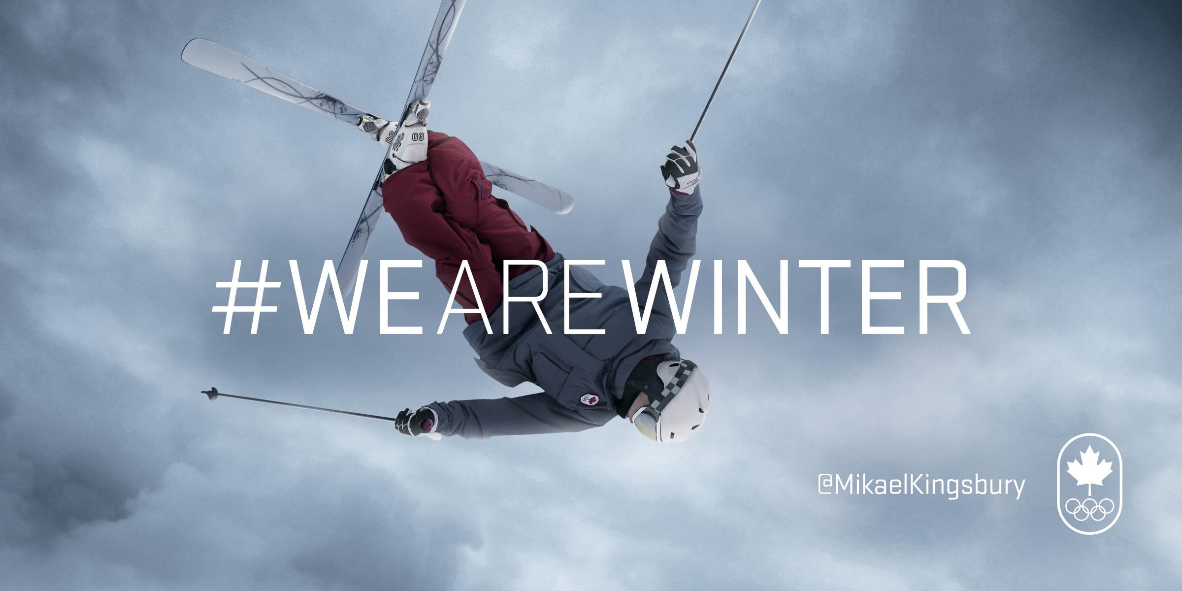 Canadian Olympic Committee Outdoor Ad -  Mikael