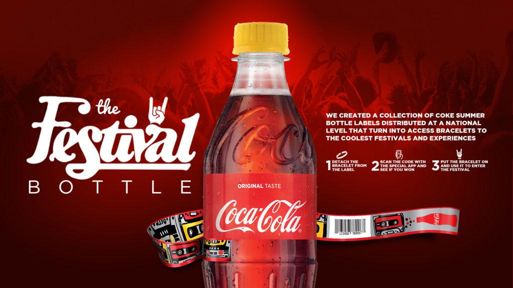 Coca-Cola Direct Ad - Festival Bottle