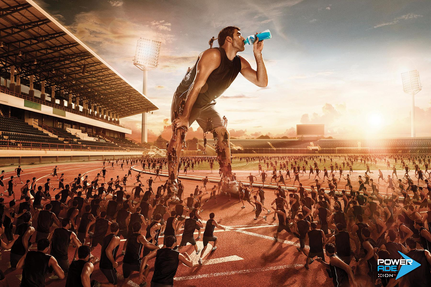 Powerade Print Ad -  Giant