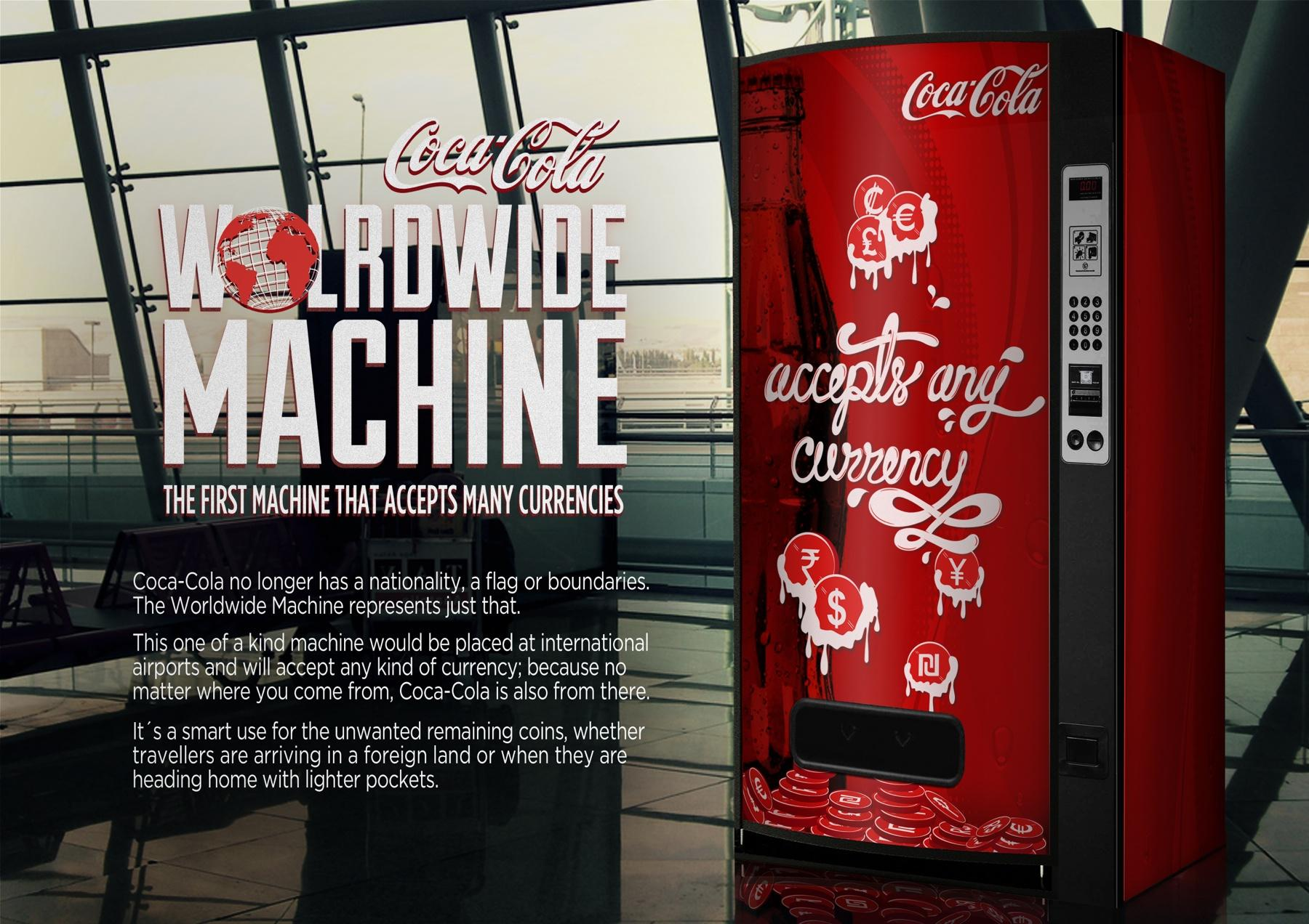 Coca-Cola Outdoor Ad -  The world wide machine