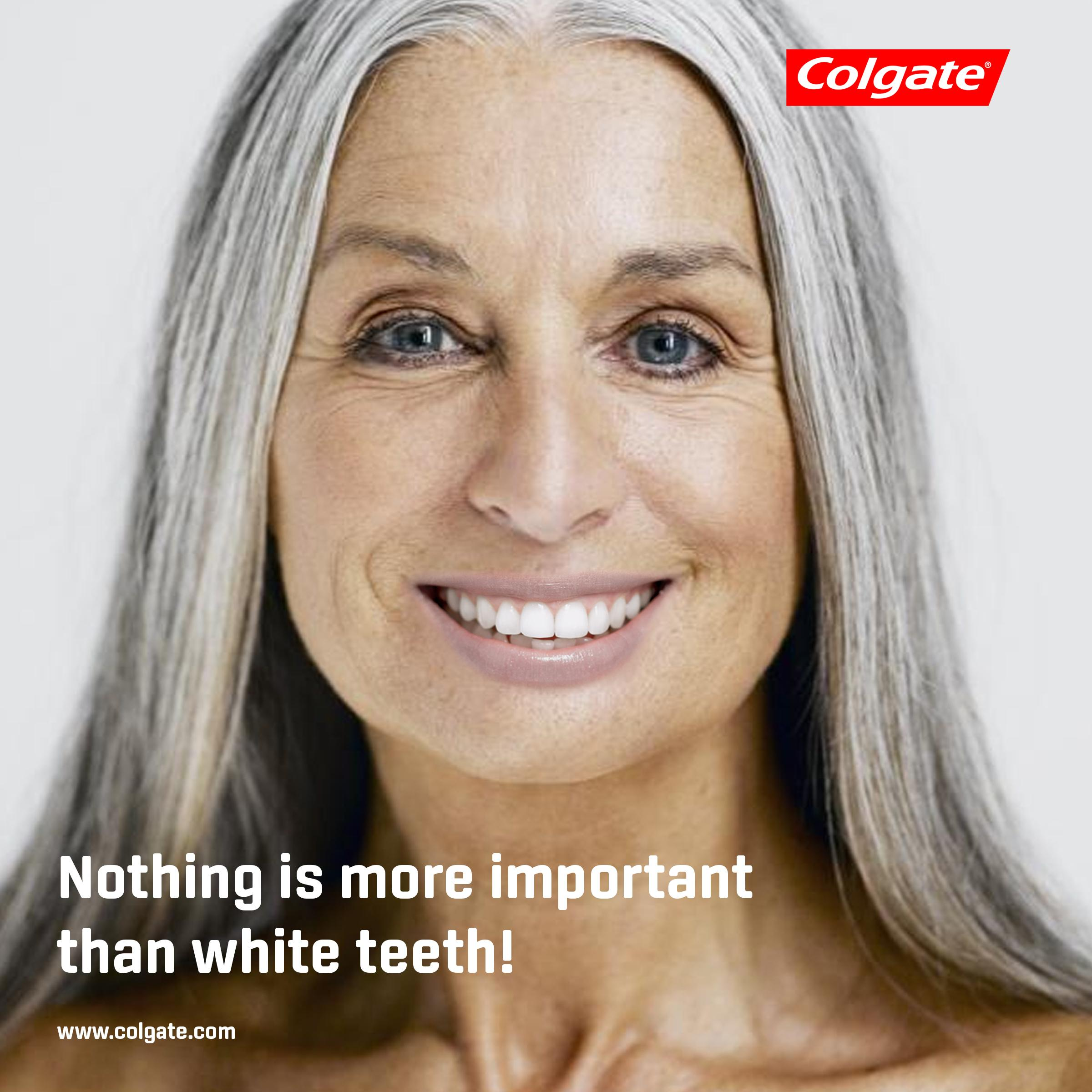 Colgate Print Ad - White Teeth, 2