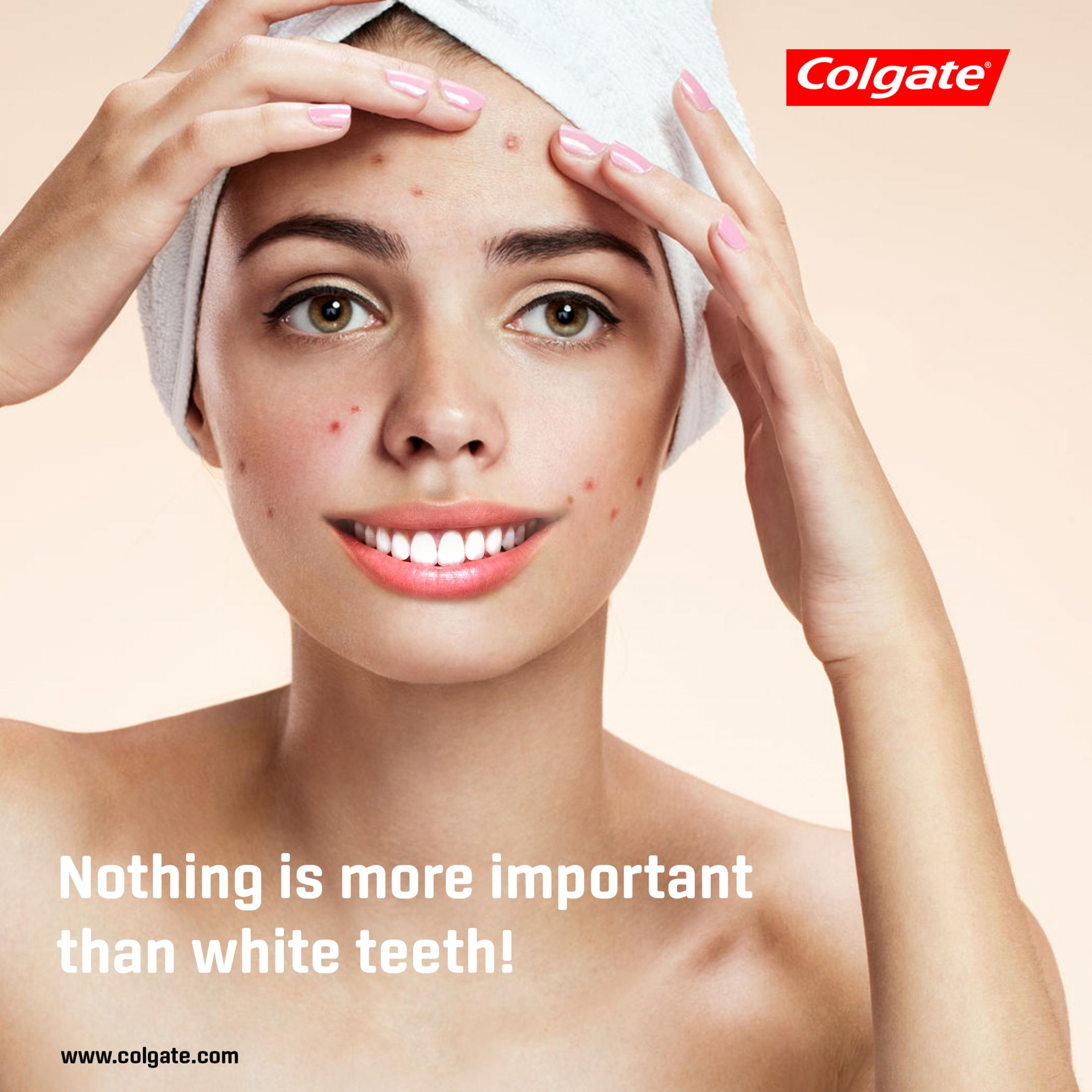 Colgate Print Ad - White Teeth, 1