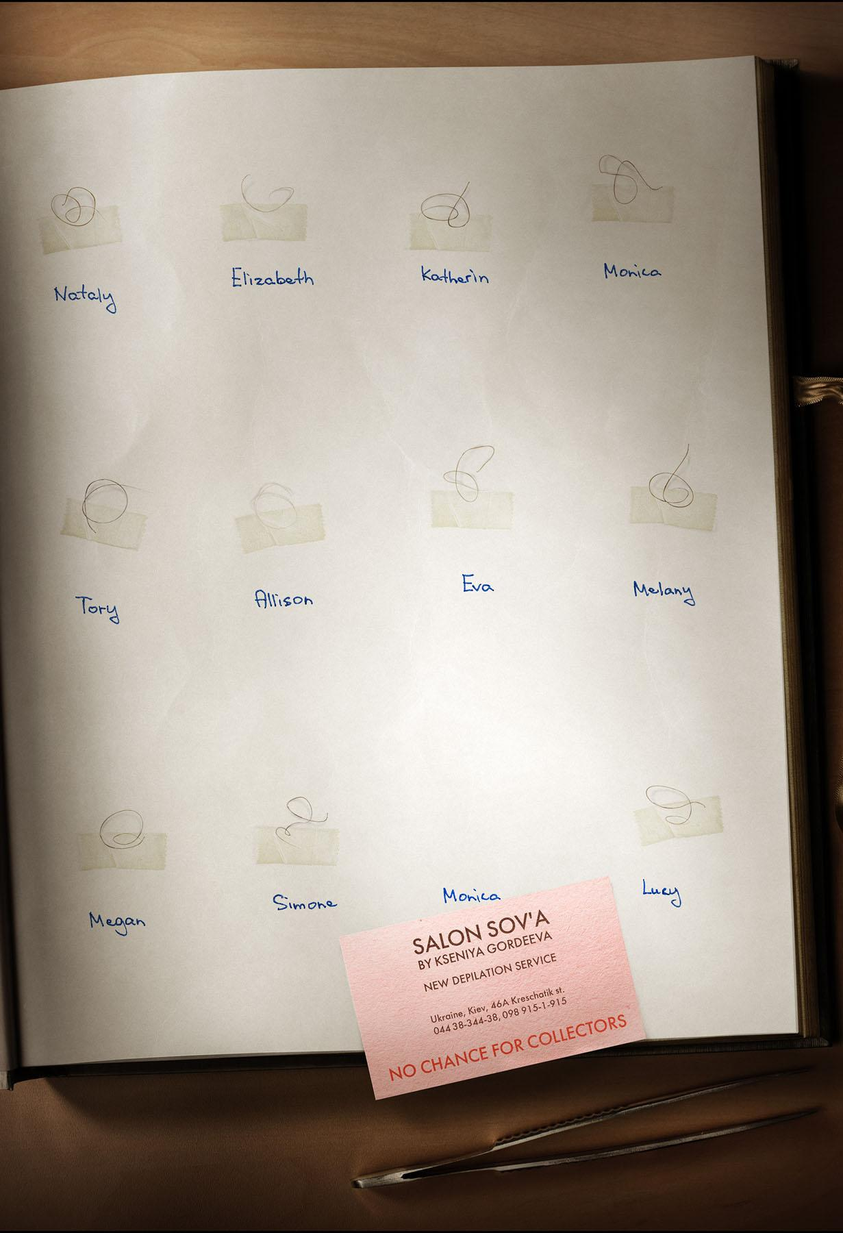 Salon Sov'a Print Ad -  Collector