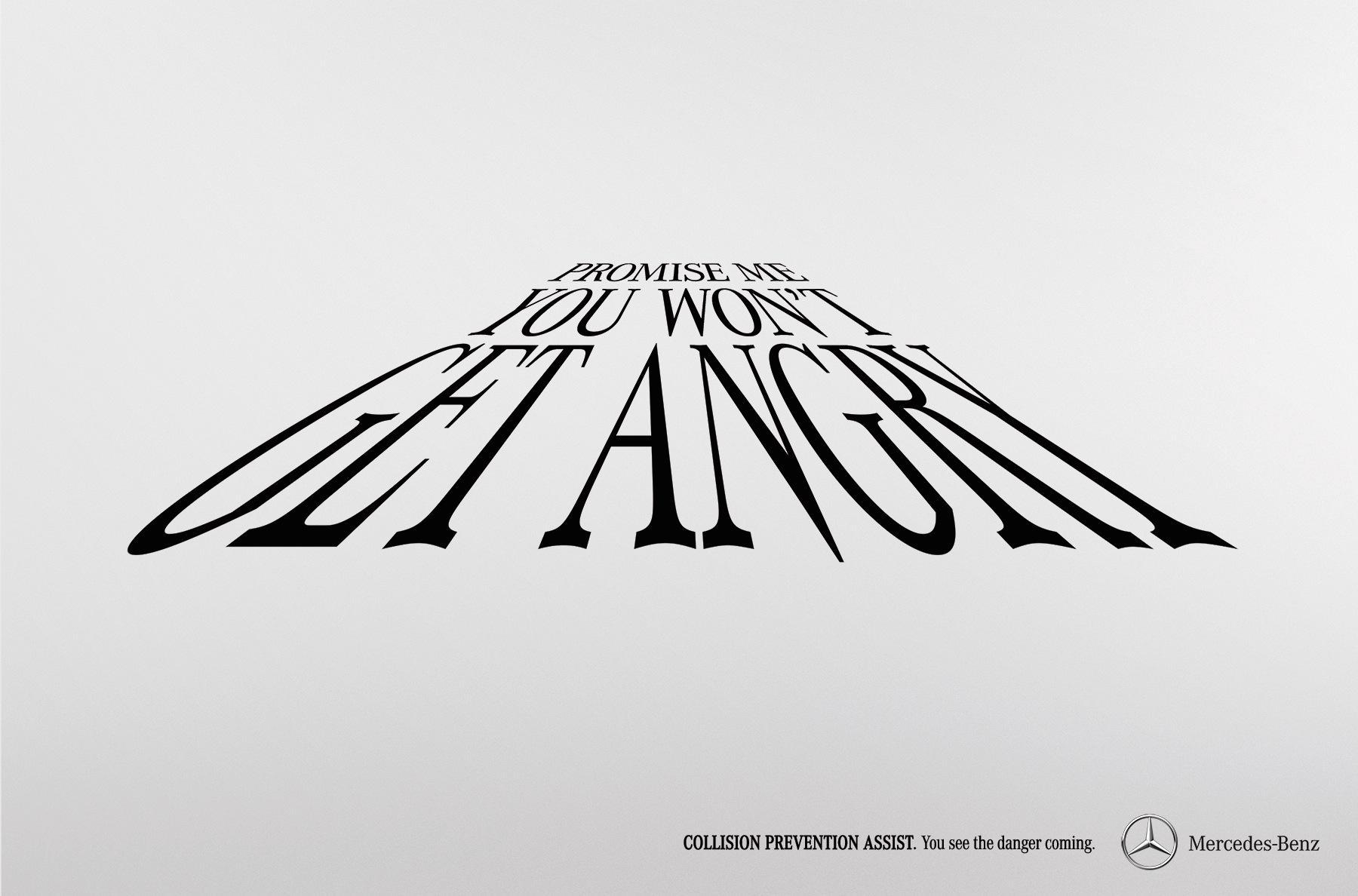 Mercedes Print Ad -  Promise