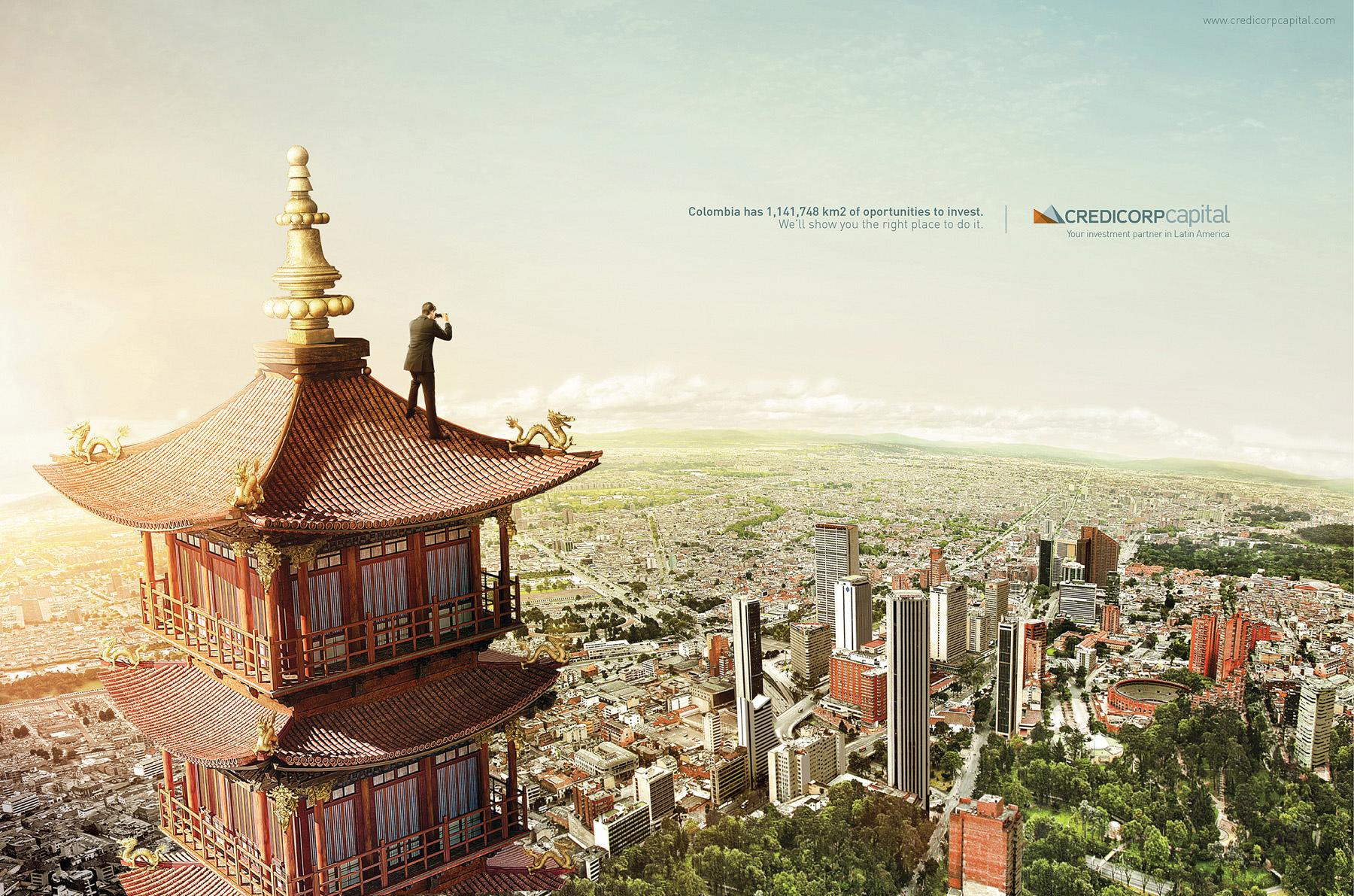 Credicorp Print Ad -  Colombia