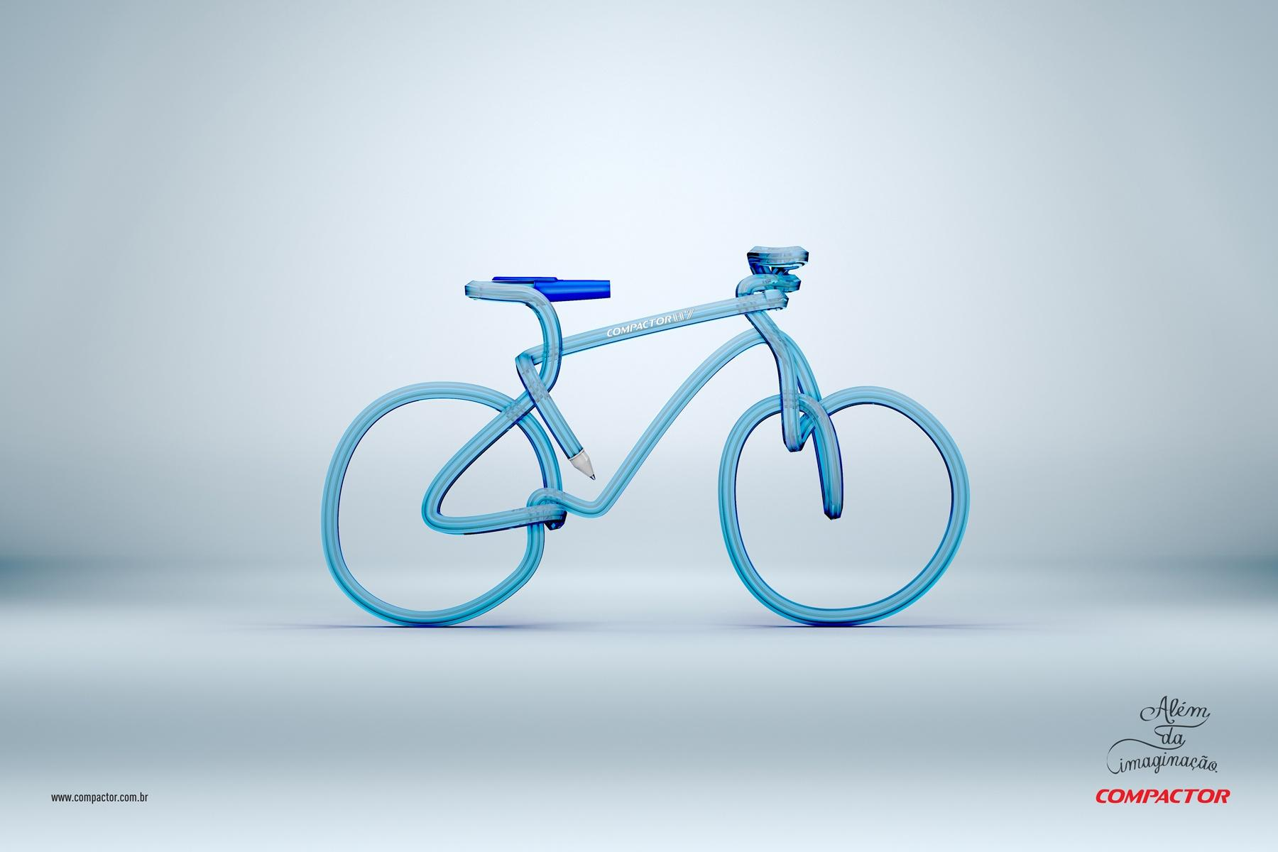 Compactor Print Ad -  Bike