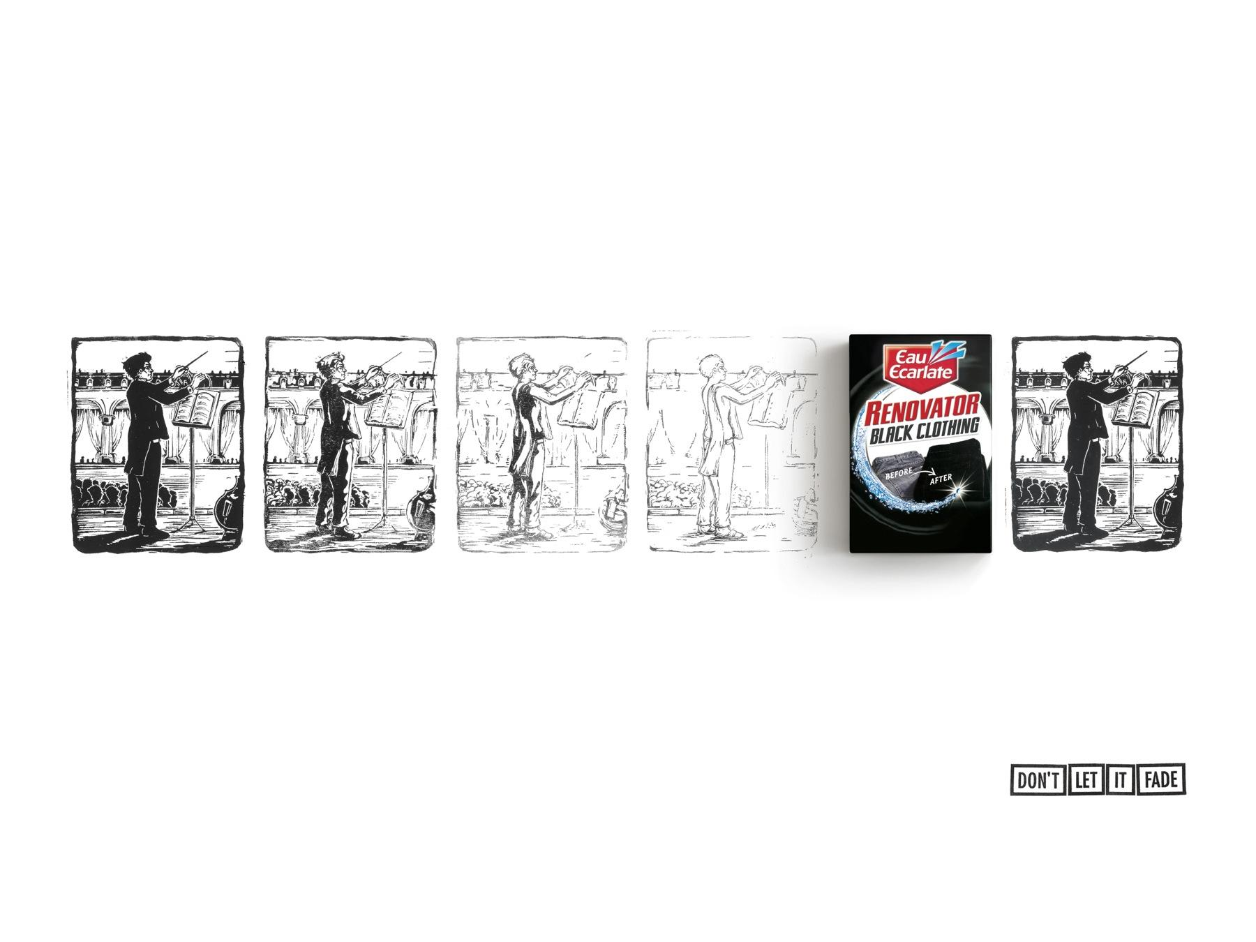 Eau Ecarlate Print Ad -  Conductor