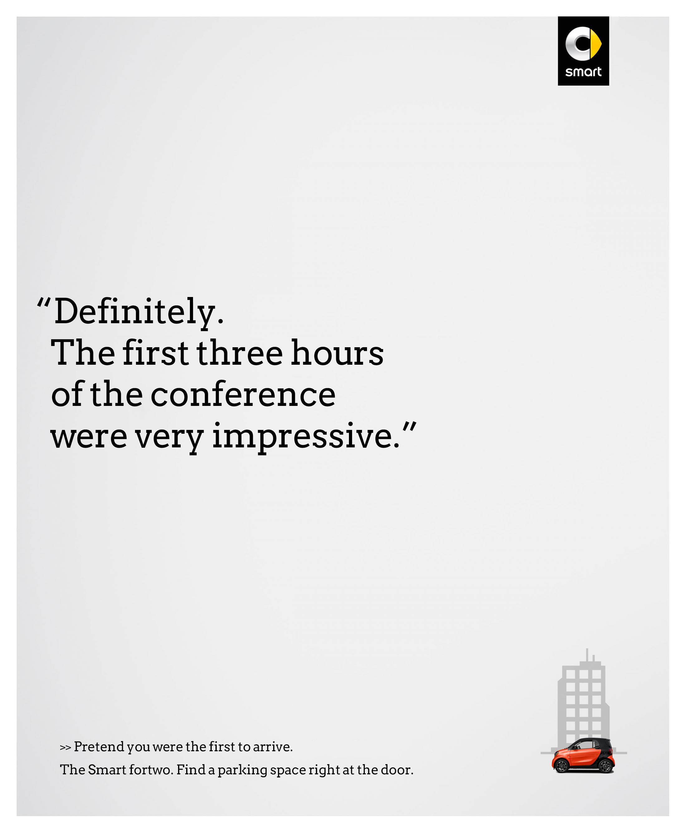 Smart Print Ad - Conference
