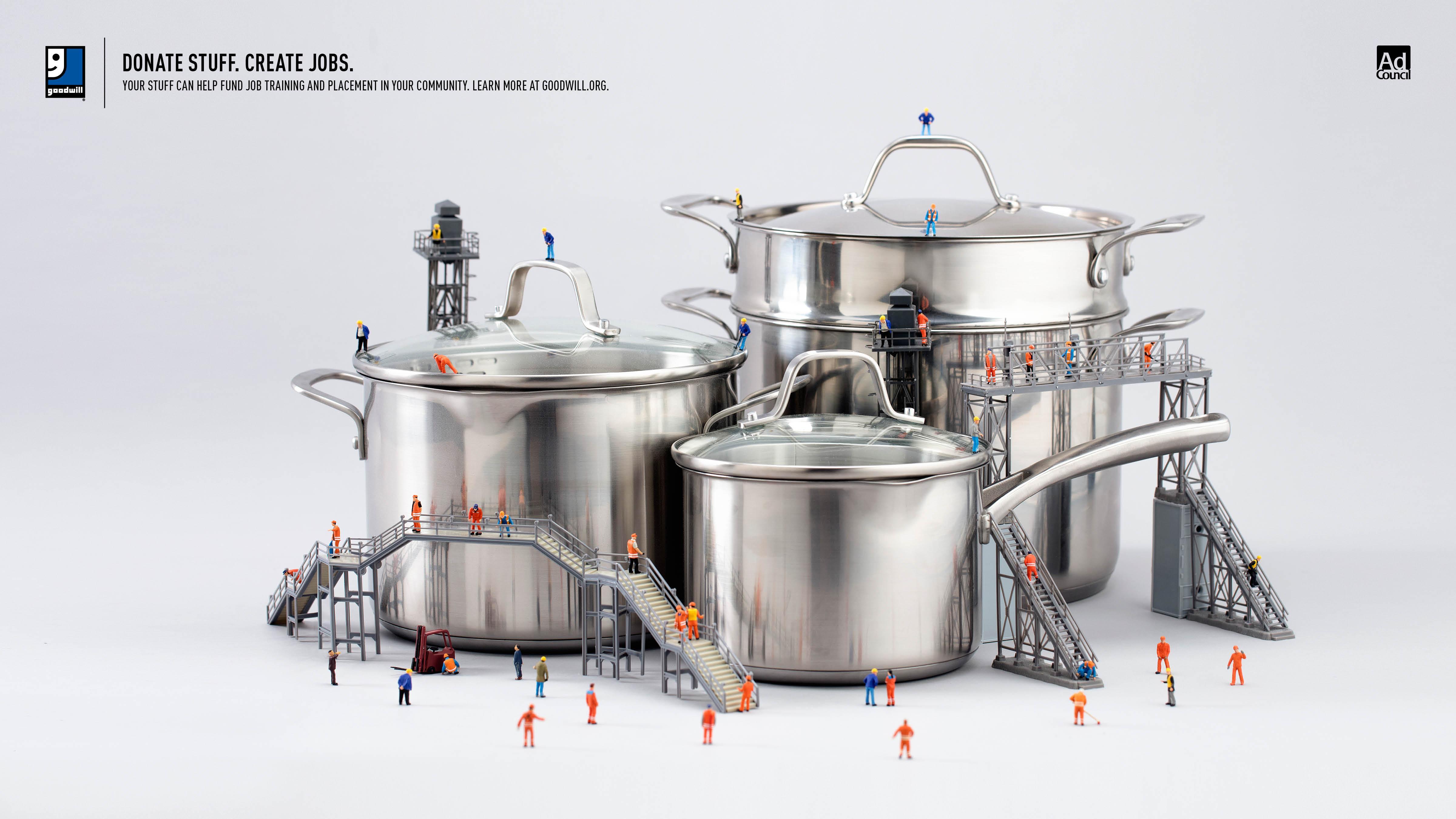 Goodwill Print Ad - Cookware