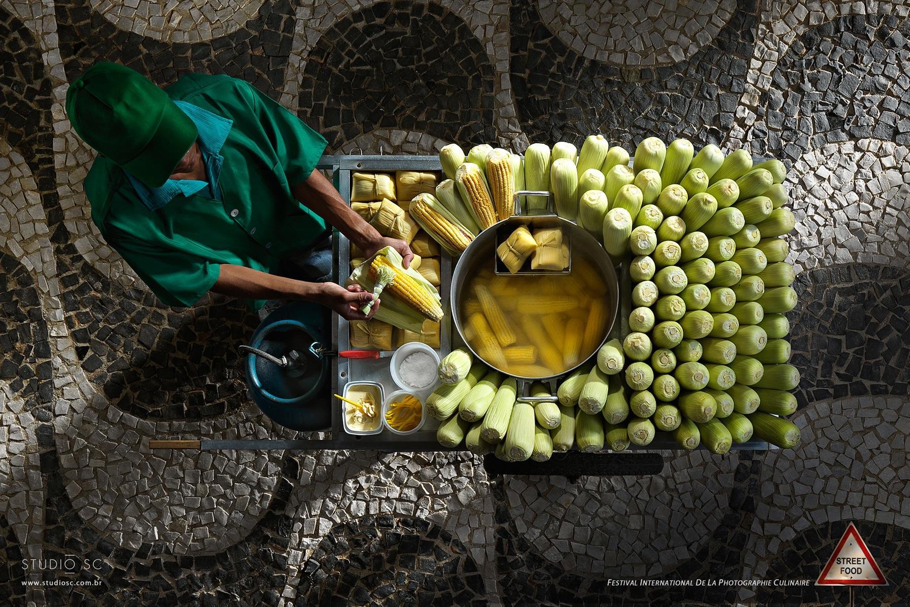 Festival International de la Photographie Culinaire Print Ad -  Street Food, 2