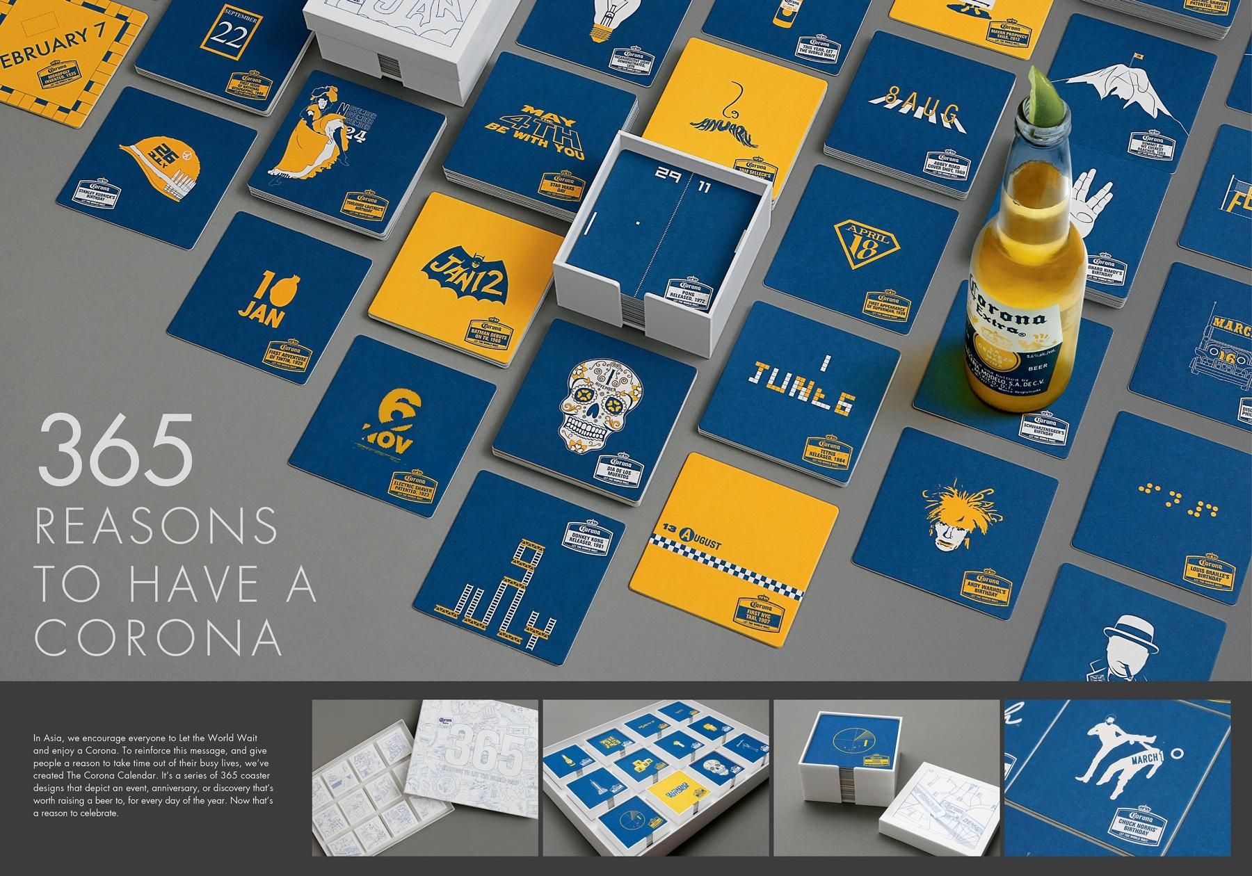 Corona Beer Direct Ad -  Calendar