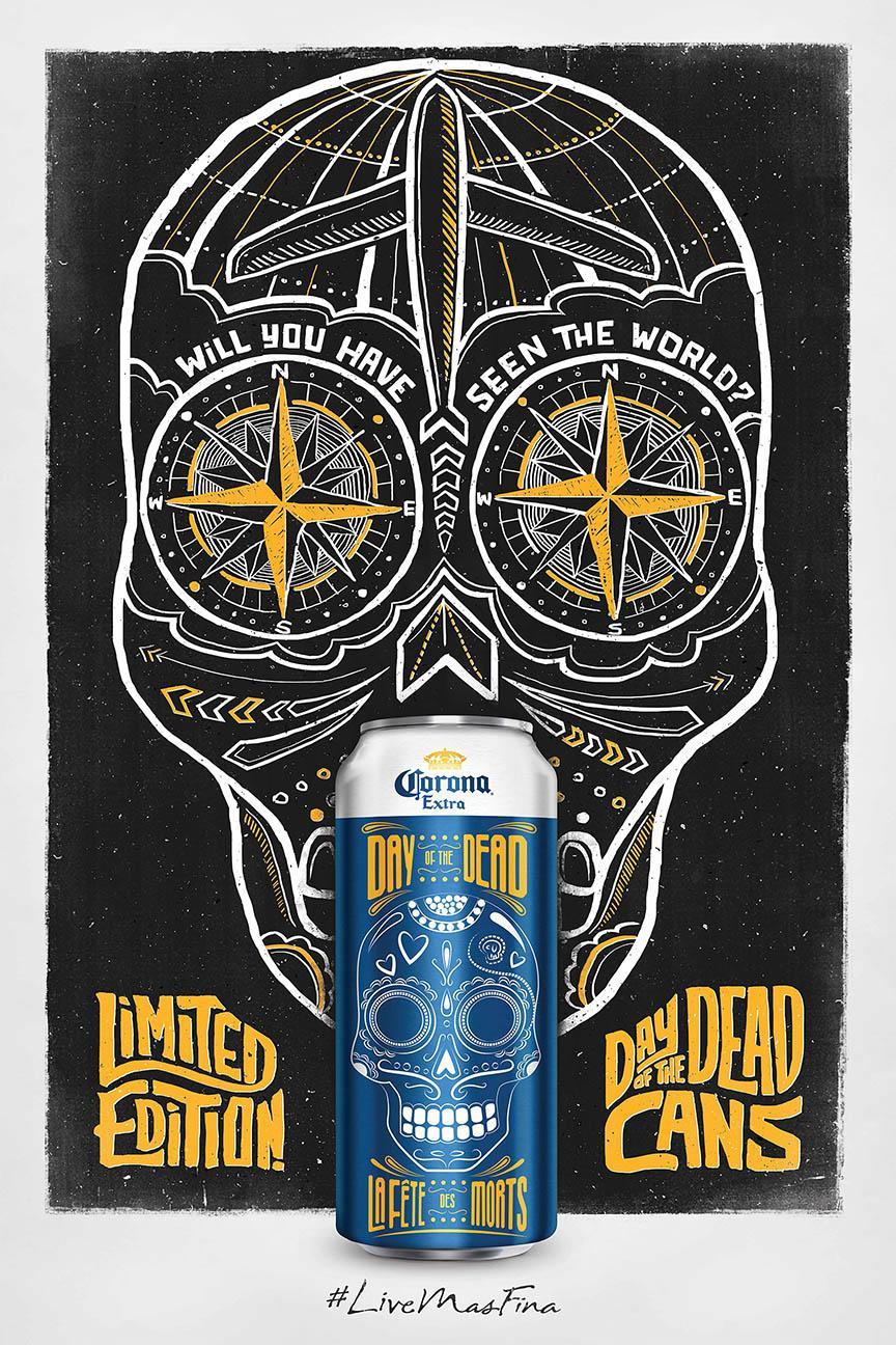 Corona Beer Print Ad -  World
