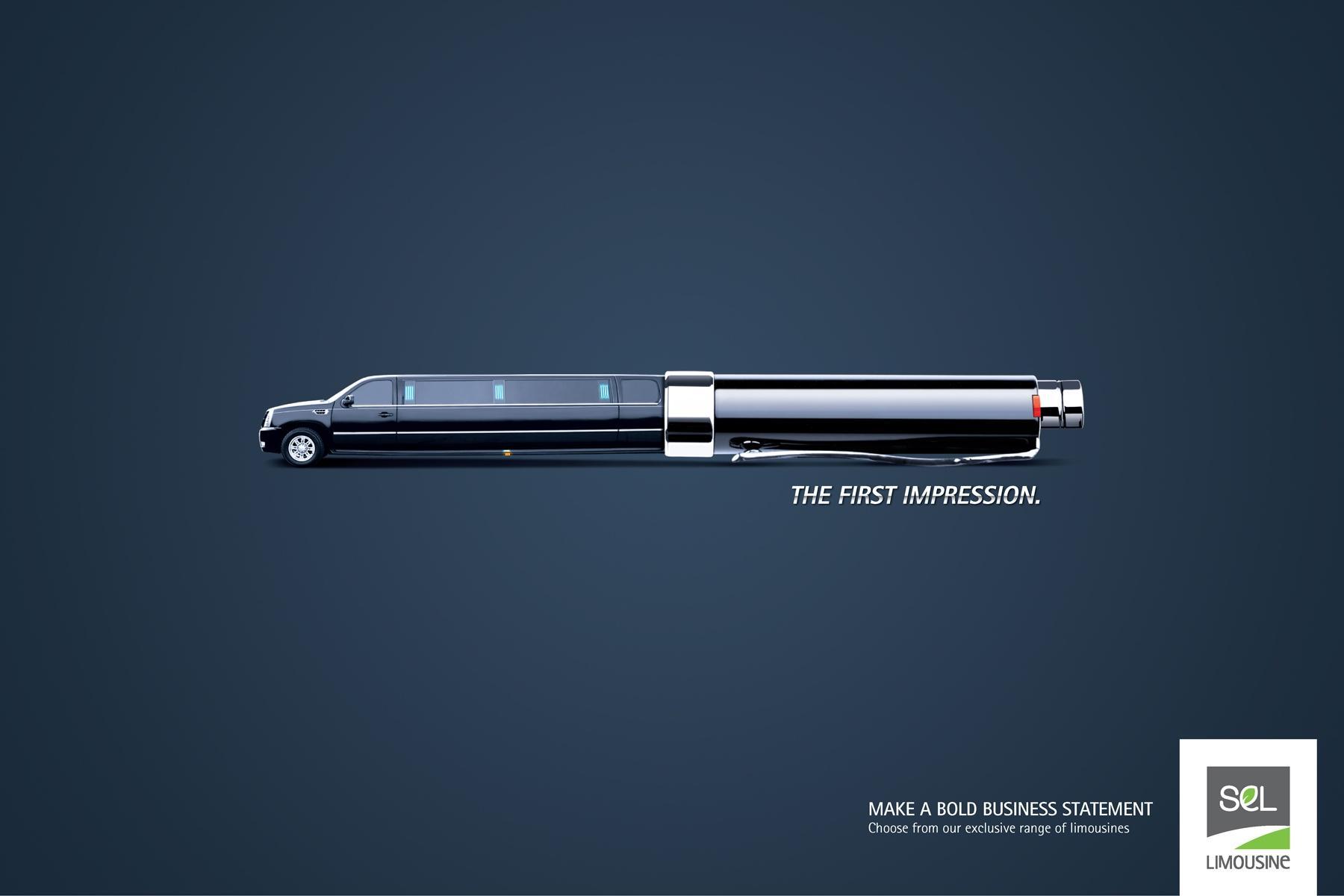 SEL Limousine Print Ad -  Corporate Executive