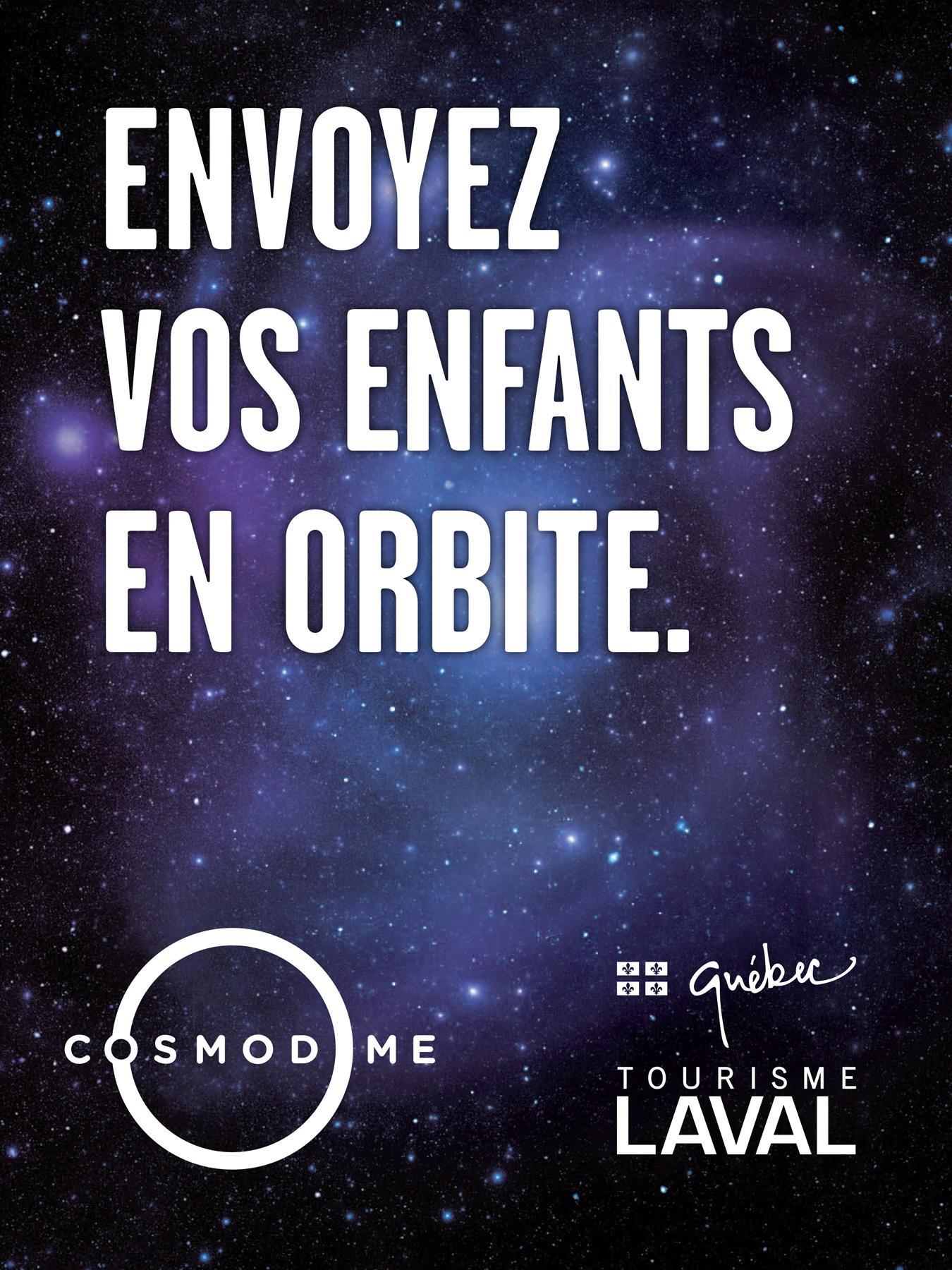 Cosmodome Print Ad -  Orbit