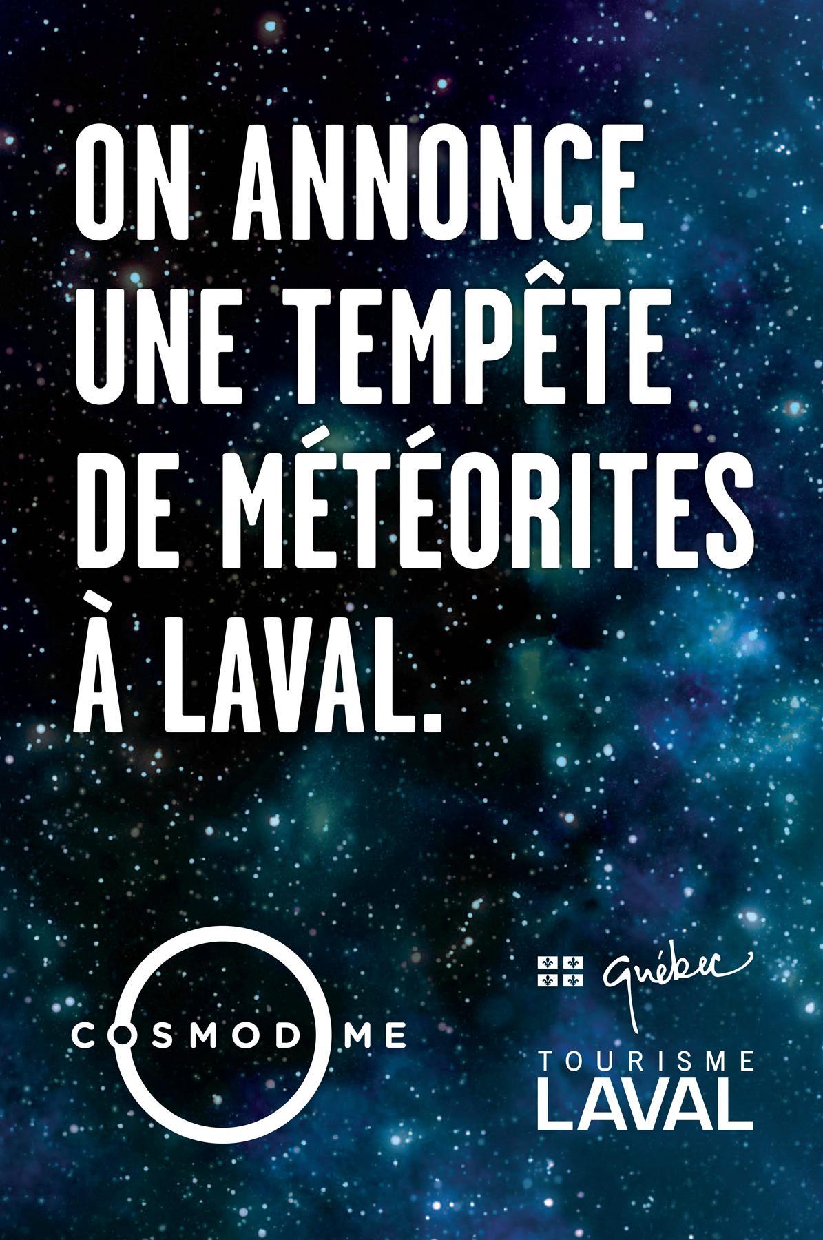 Cosmodome Print Ad -  Meteor
