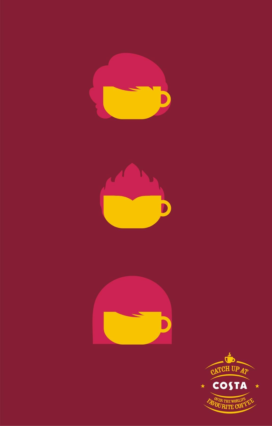Costa Print Ad -  Coffee