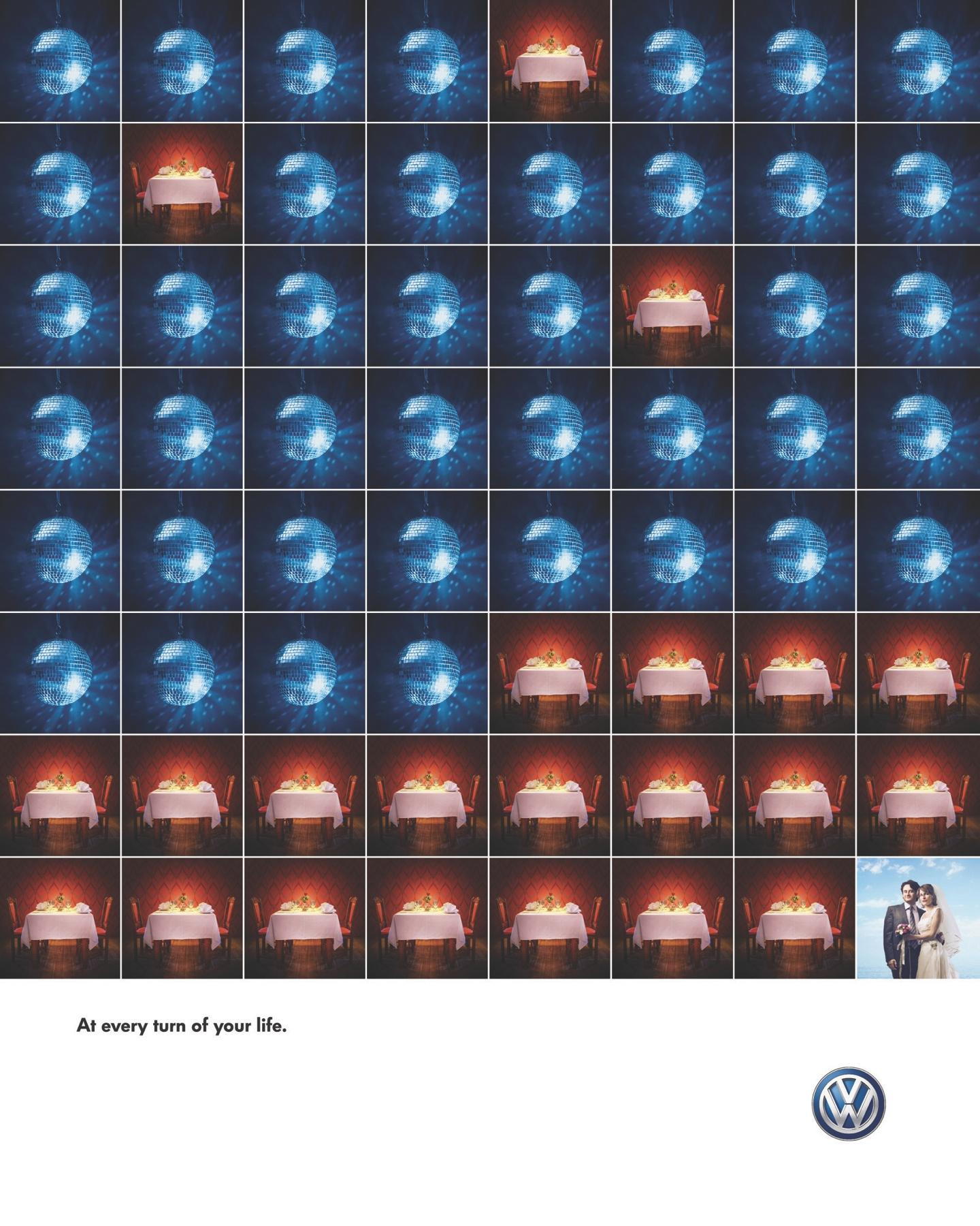 Volkswagen Print Ad -  Couple