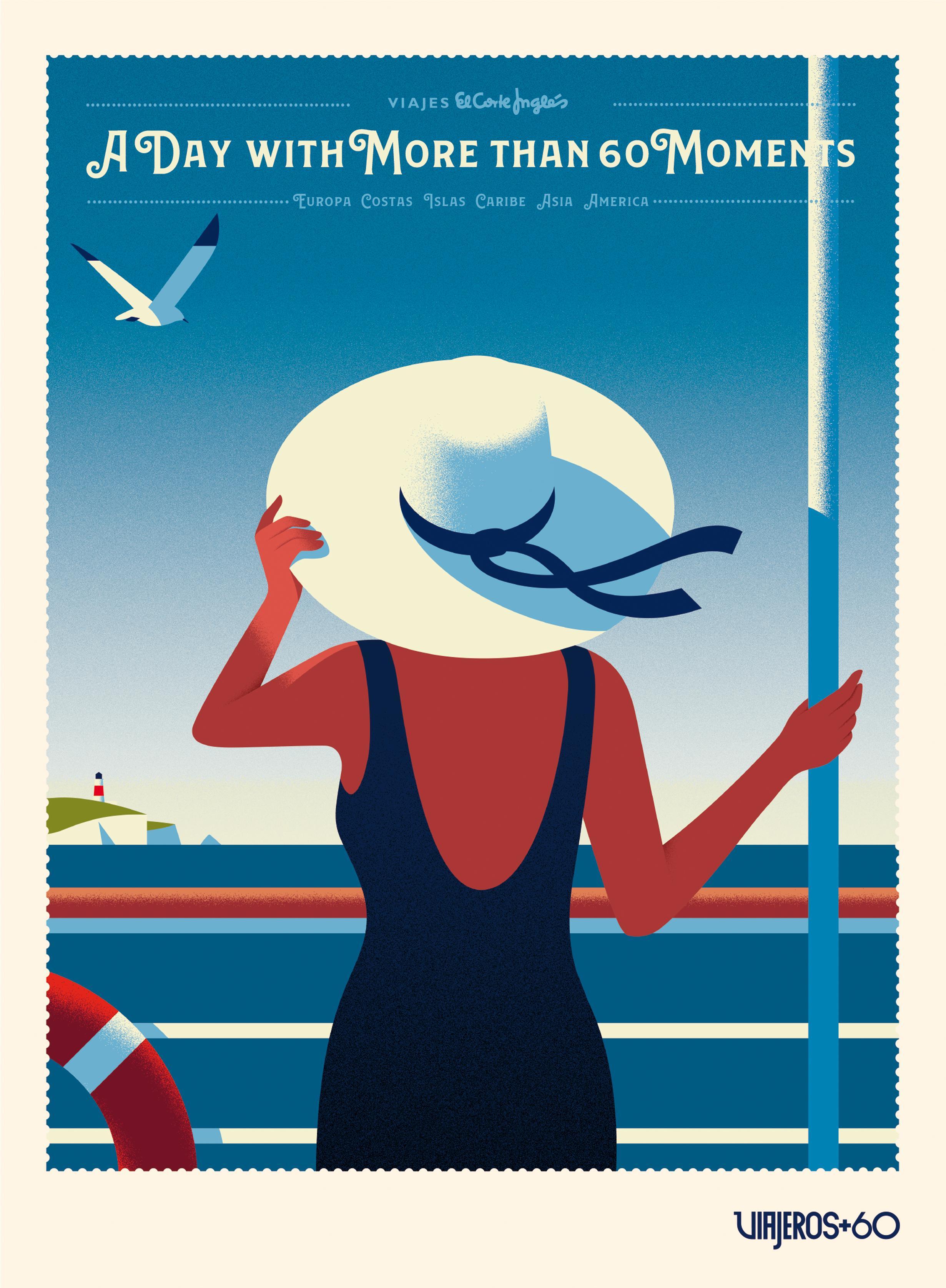 Viajes el Corte Ingles Print Ad - VIAJEROS +60, Cruises