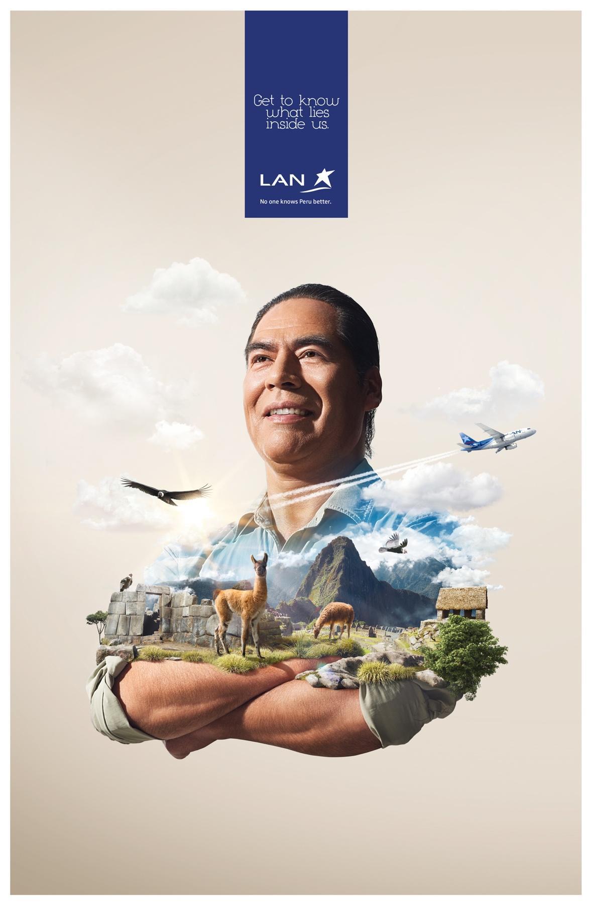 LAN Print Ad -  Cusco