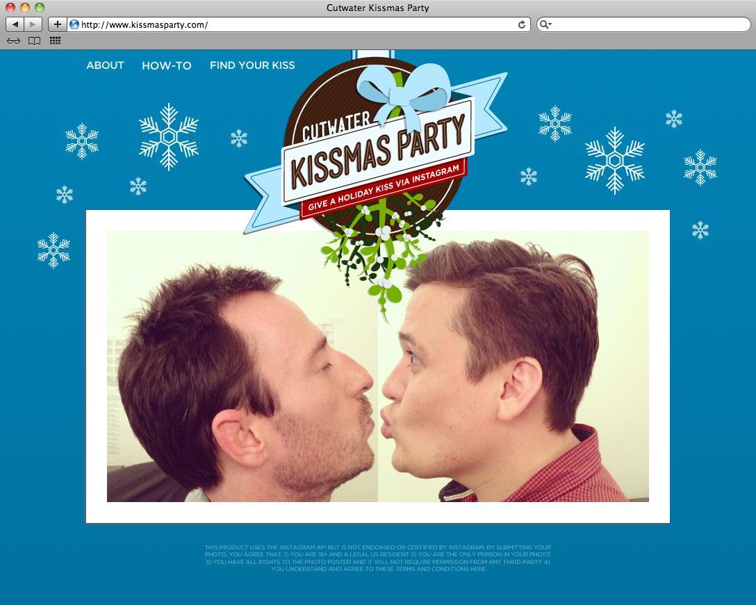 Cutwater Digital Ad -  Kissmas Party