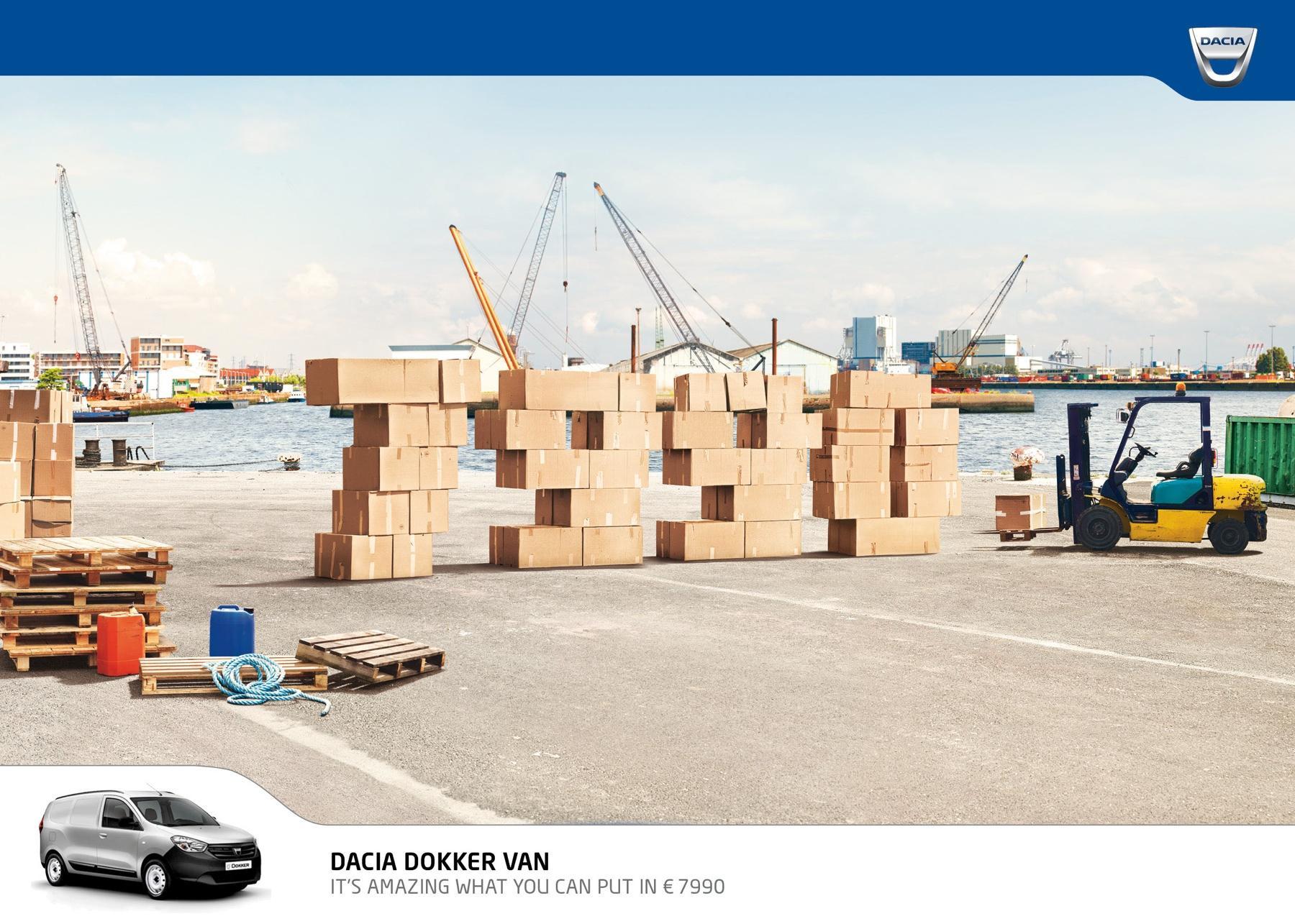 Dacia Print Ad -  Prices, Port