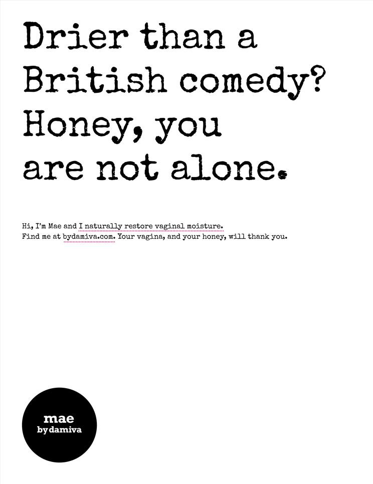 Damiva Outdoor Ad -  British Comedy