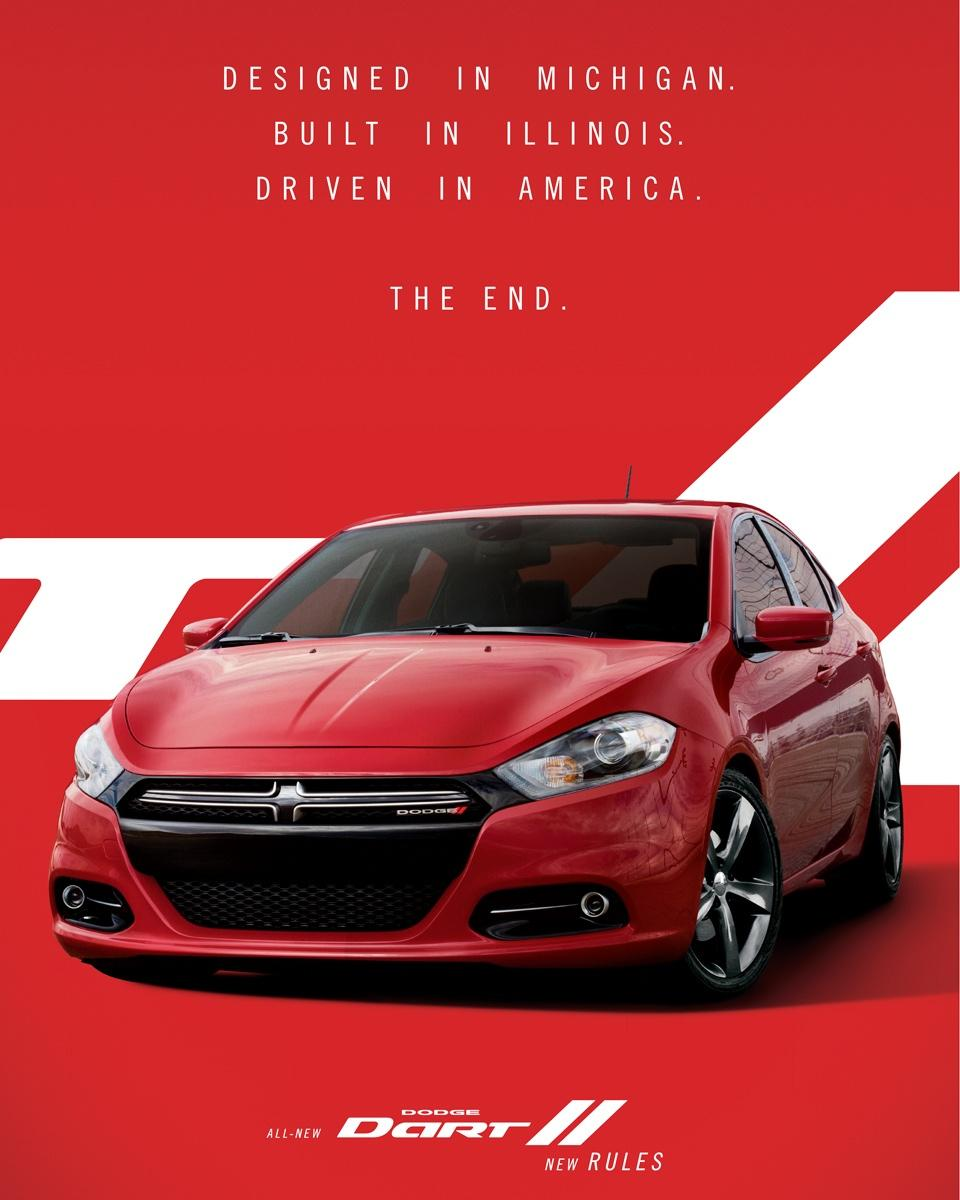 Dodge Print Ad -  Red