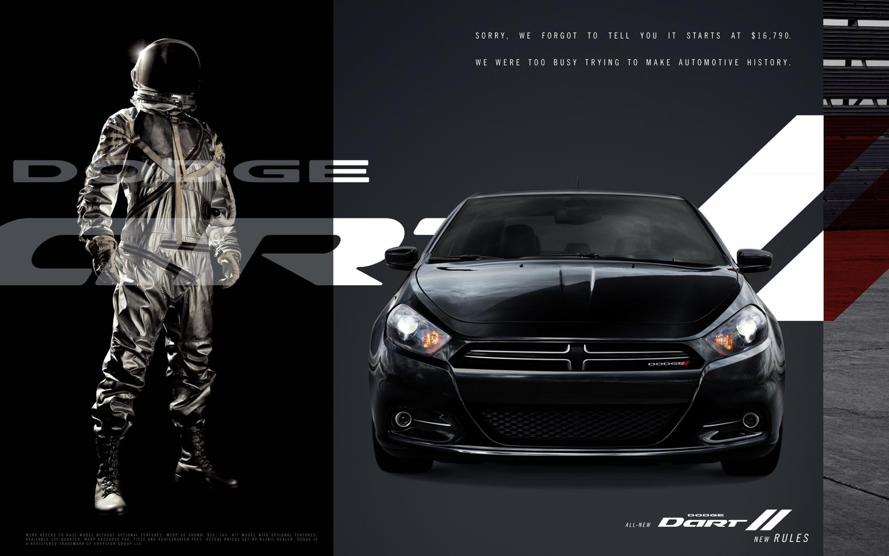 Dodge Print Ad -  Black