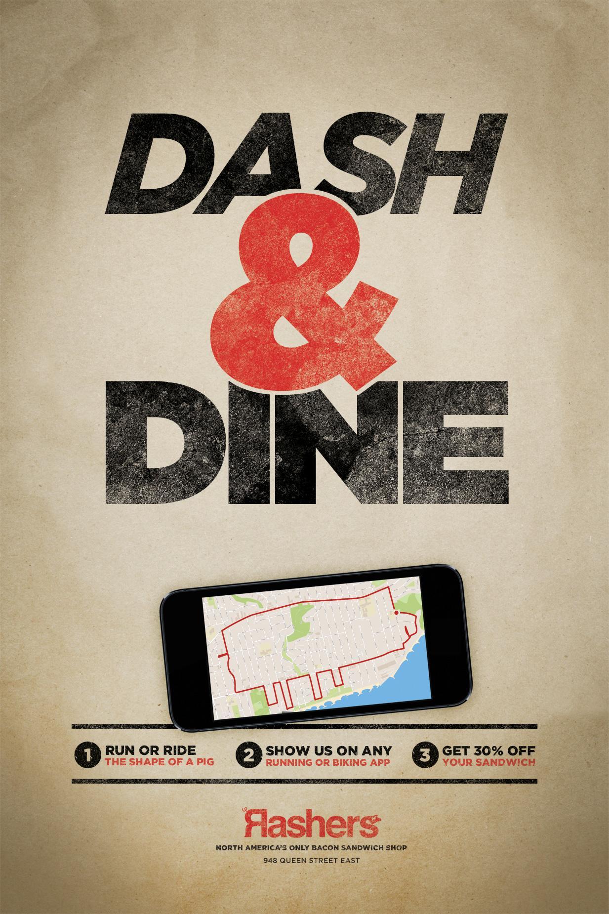 Rashers Print Ad -  Dash