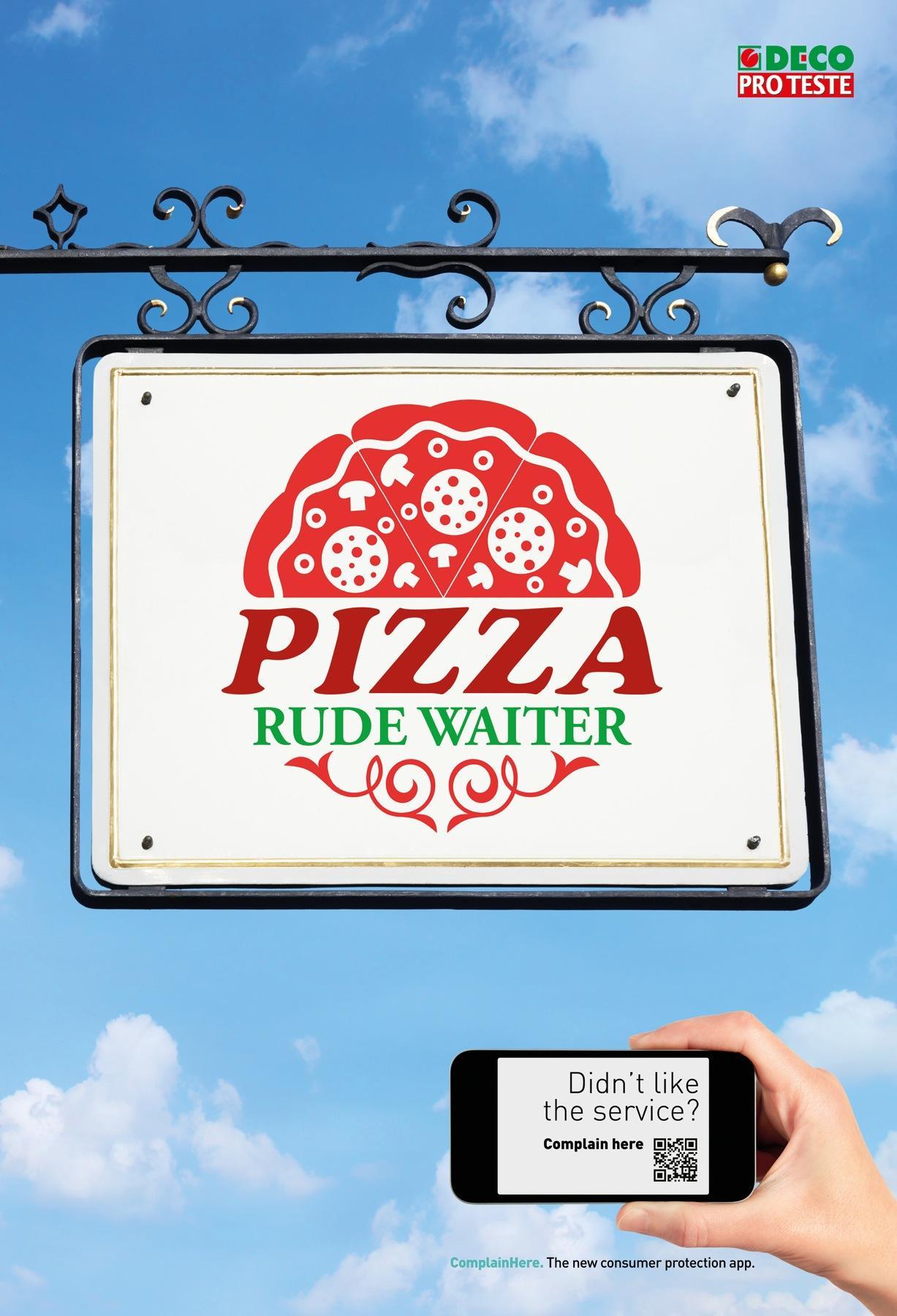Deco Outdoor Ad -  Pizza