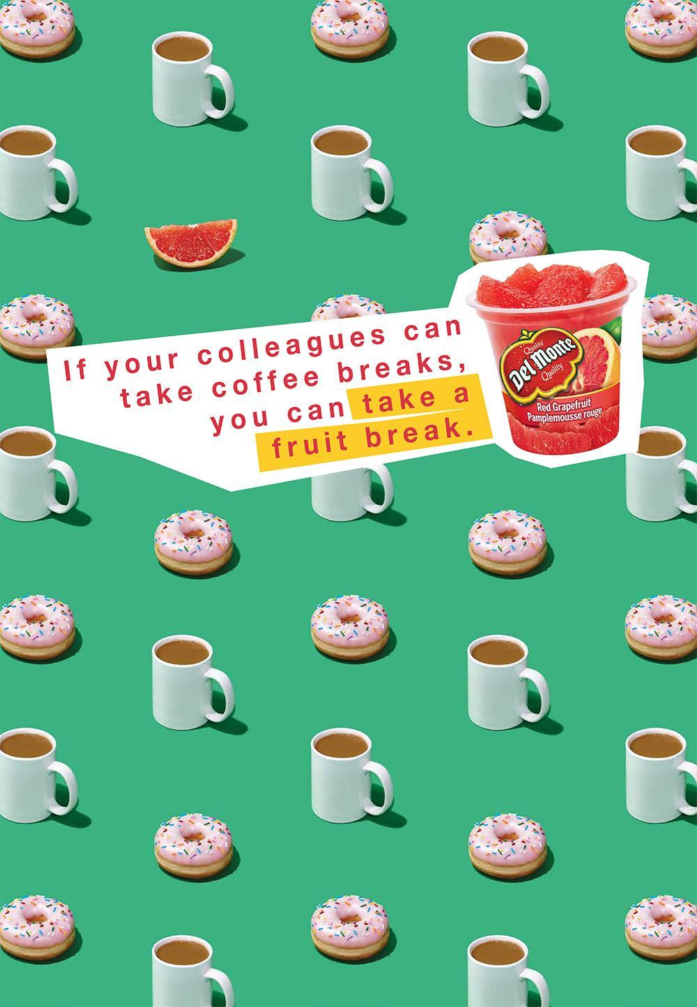 Del Monte Print Ad -  Coffee