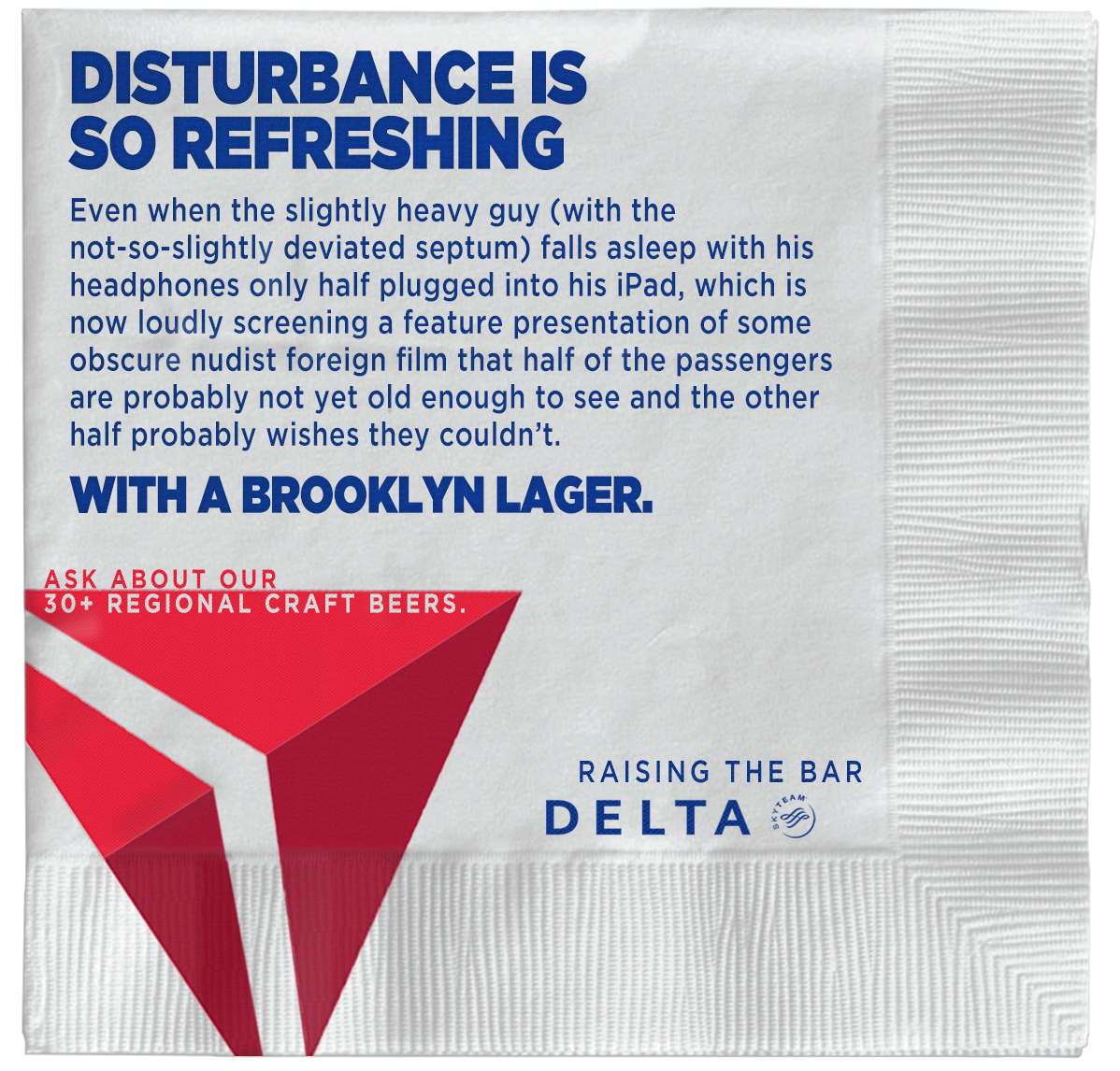 Delta Direct Ad - Raising the Bar - Disturbance