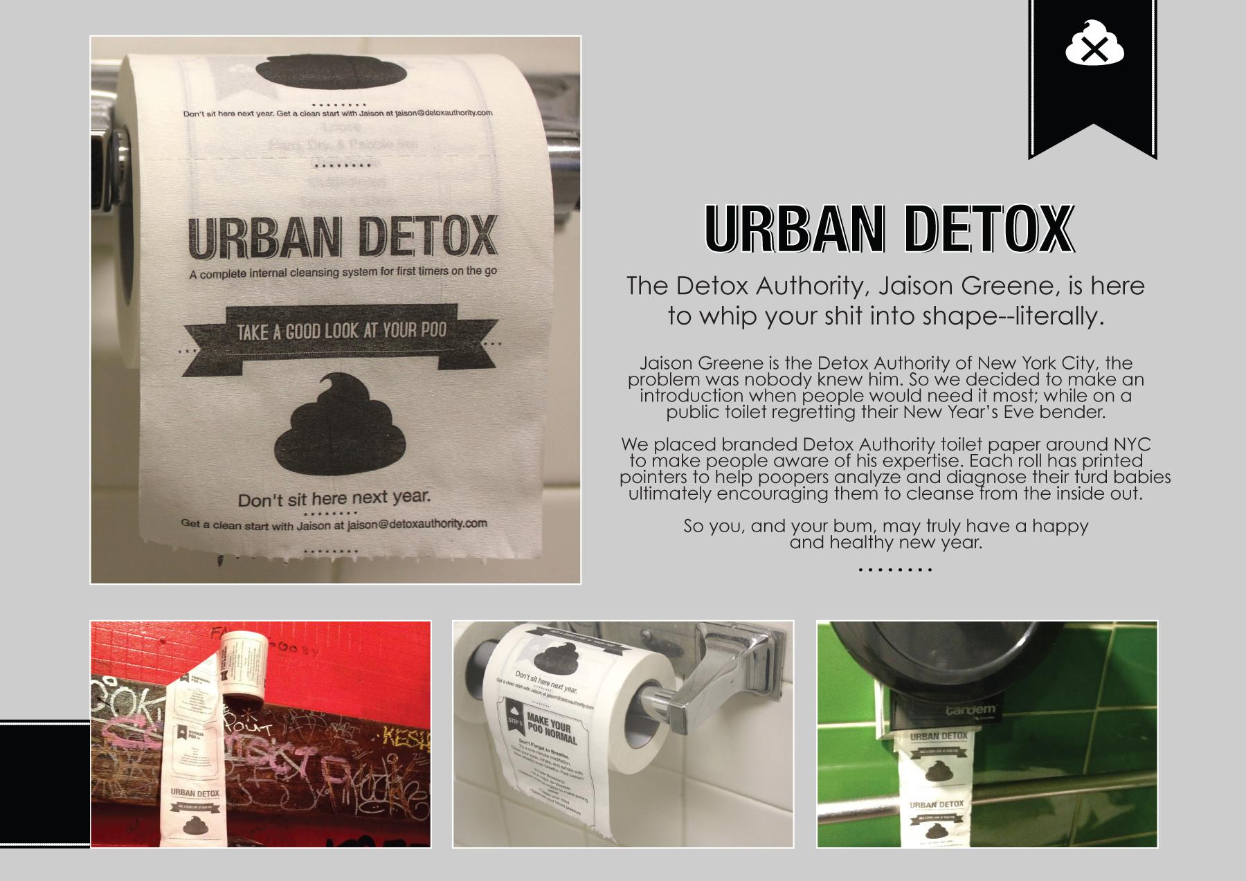 Detox Authority Ambient Ad