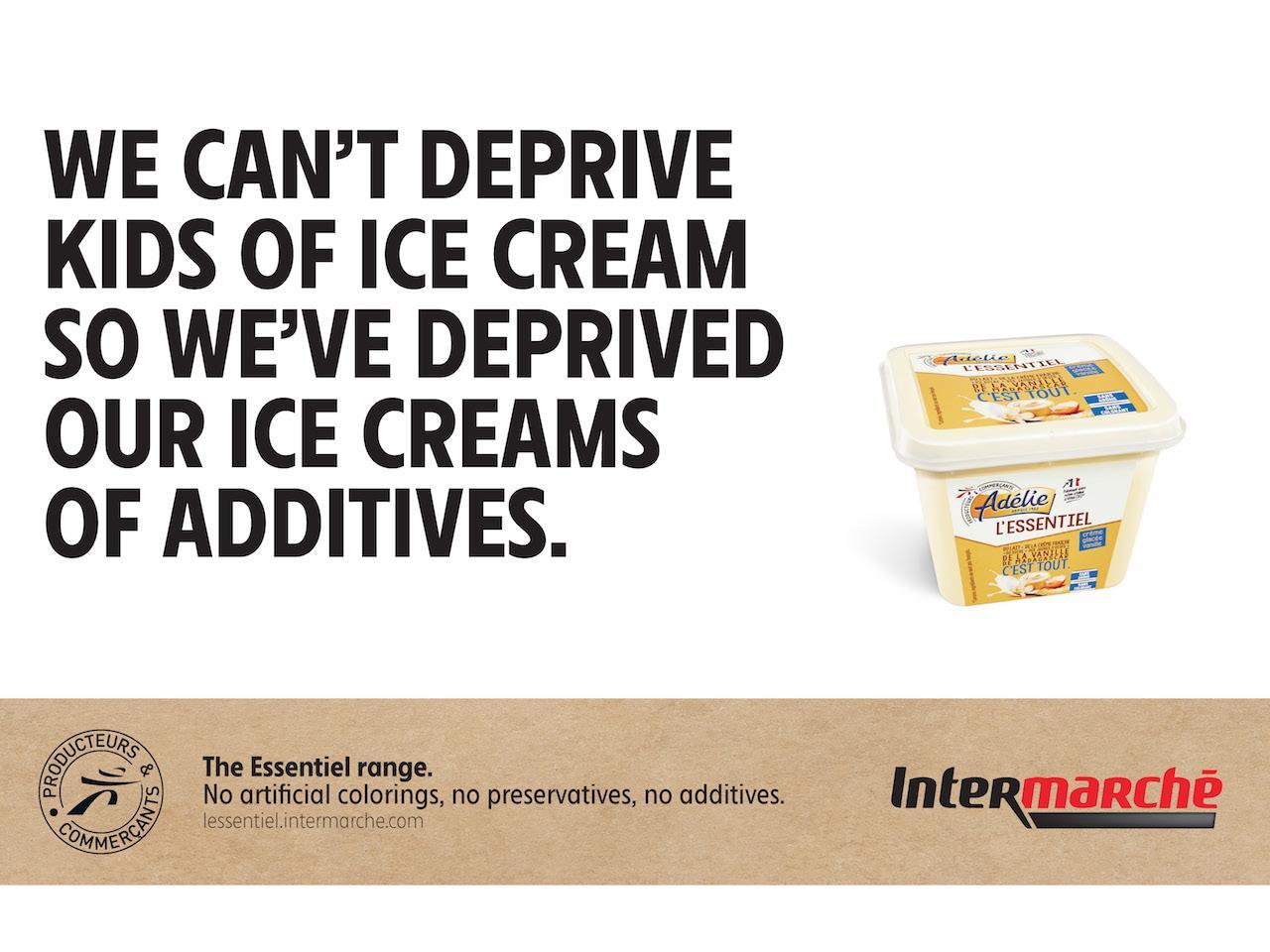 Intermarche Print Ad - The Taste of Colors, 2