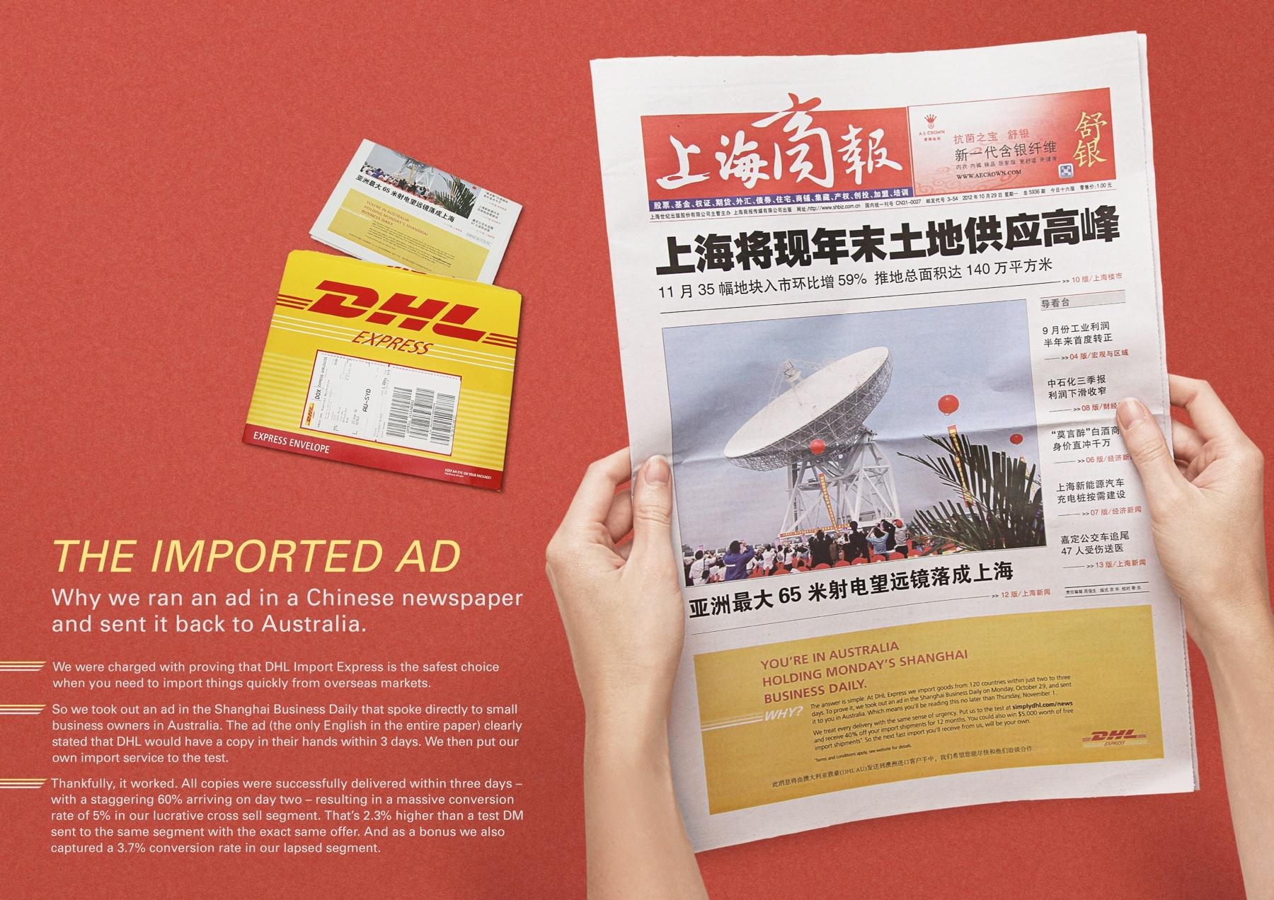 DHL Direct Ad -  The Imported Ad