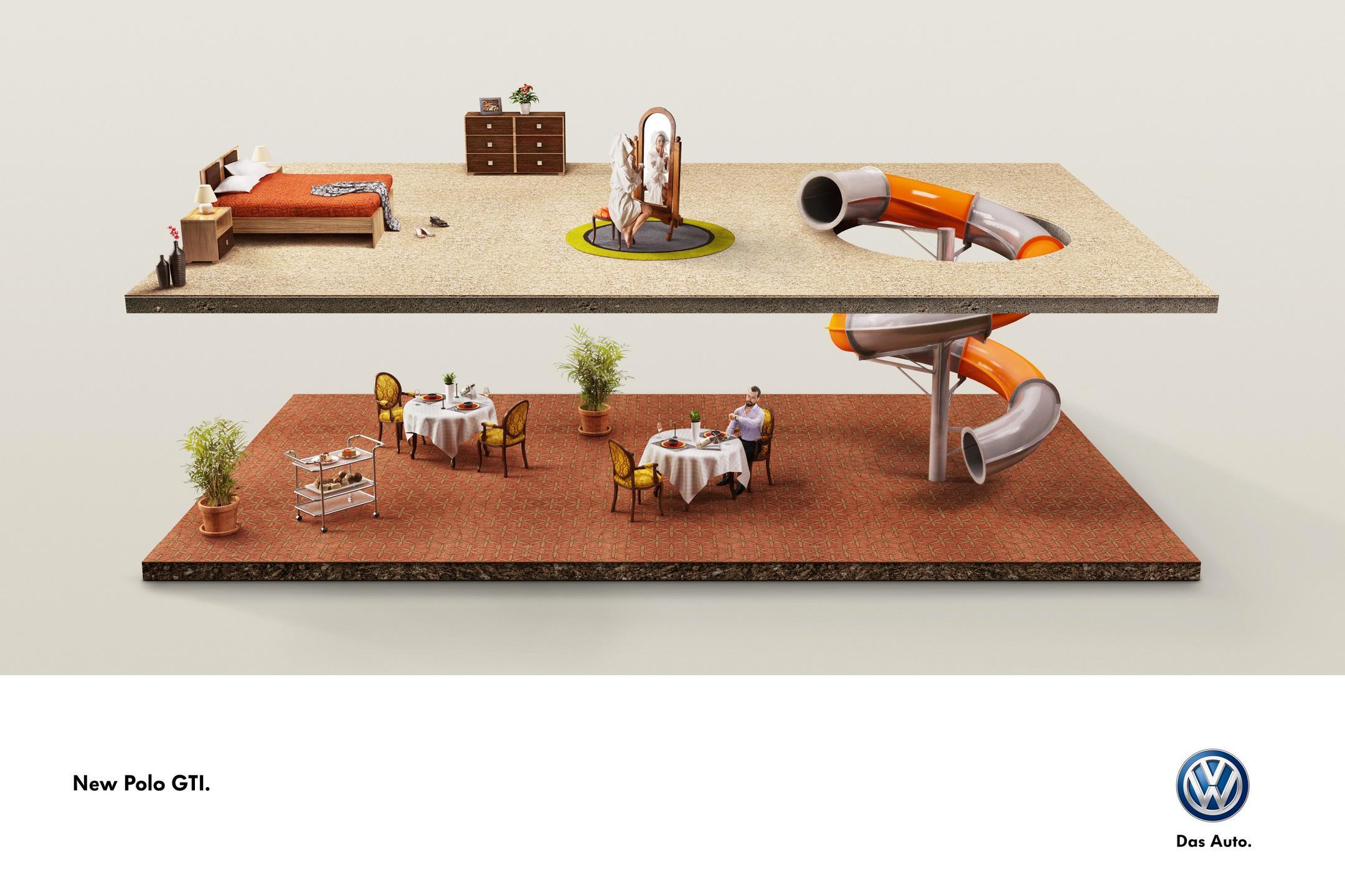 Volkswagen Print Ad -  Dinner