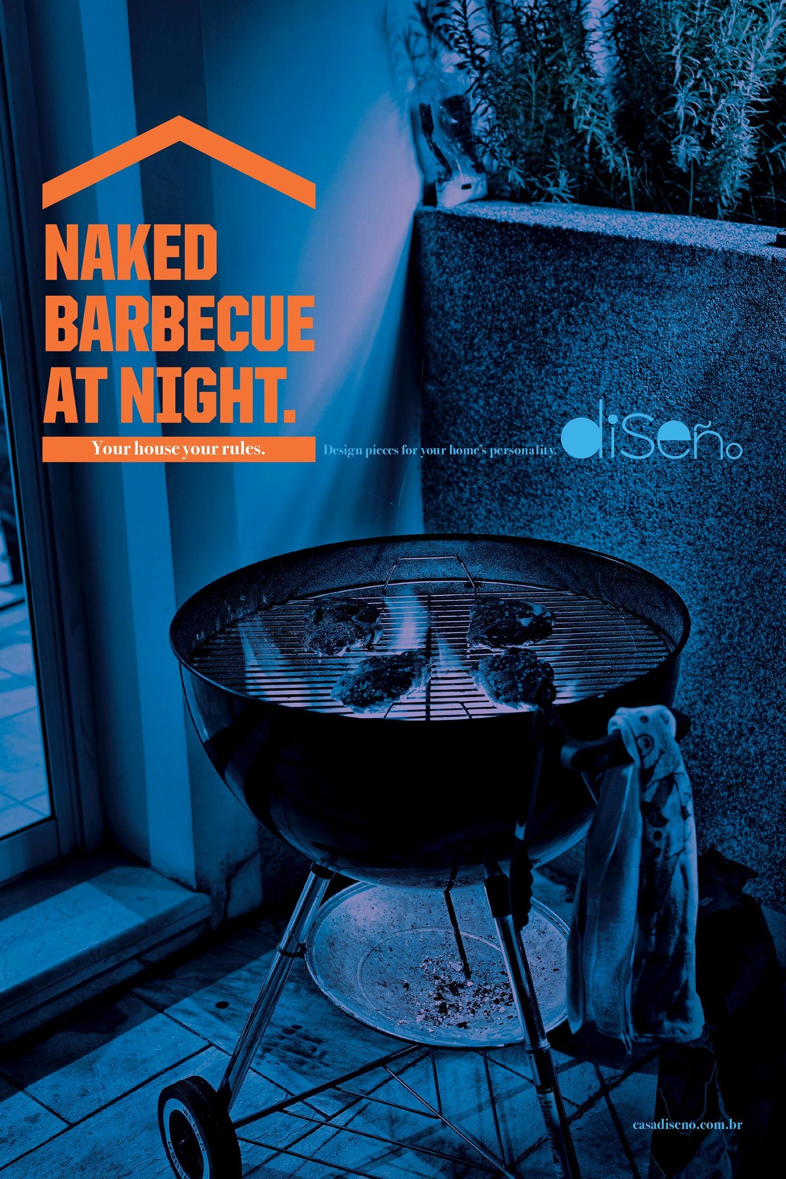 Diseño Print Ad -  Barbecue
